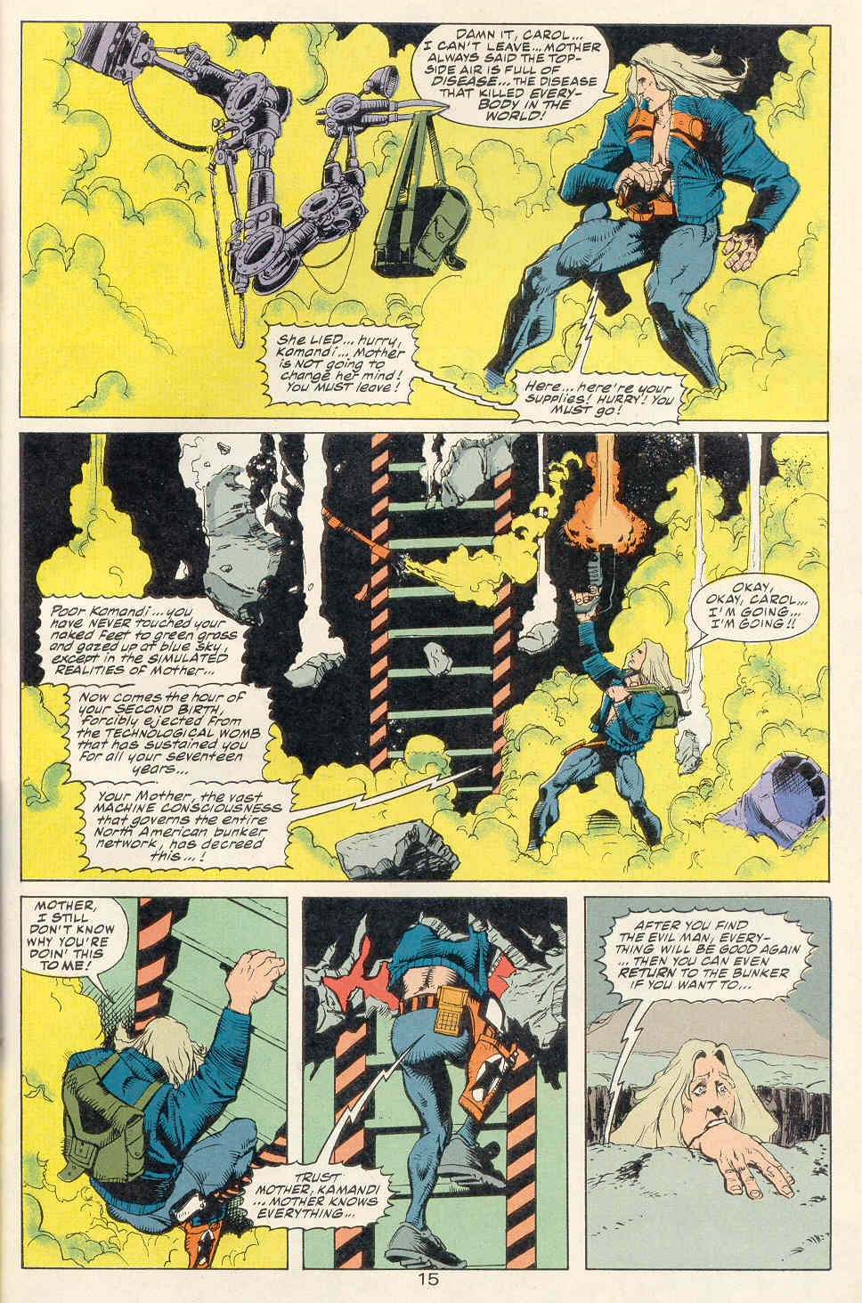 Read online Kamandi: At Earth's End comic -  Issue #1 - 16