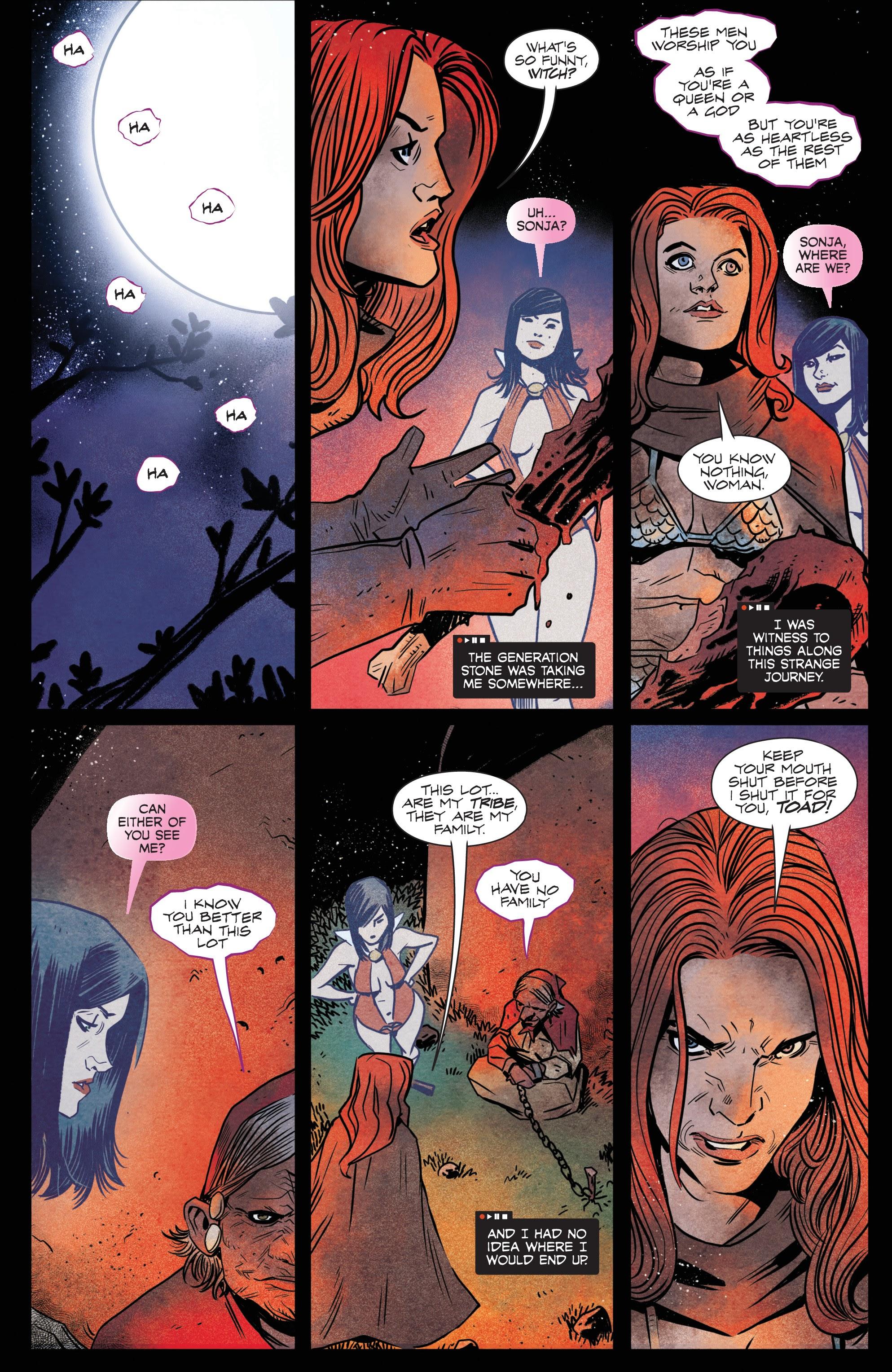 Vampirella/Red Sonja issue 6 - Page 8