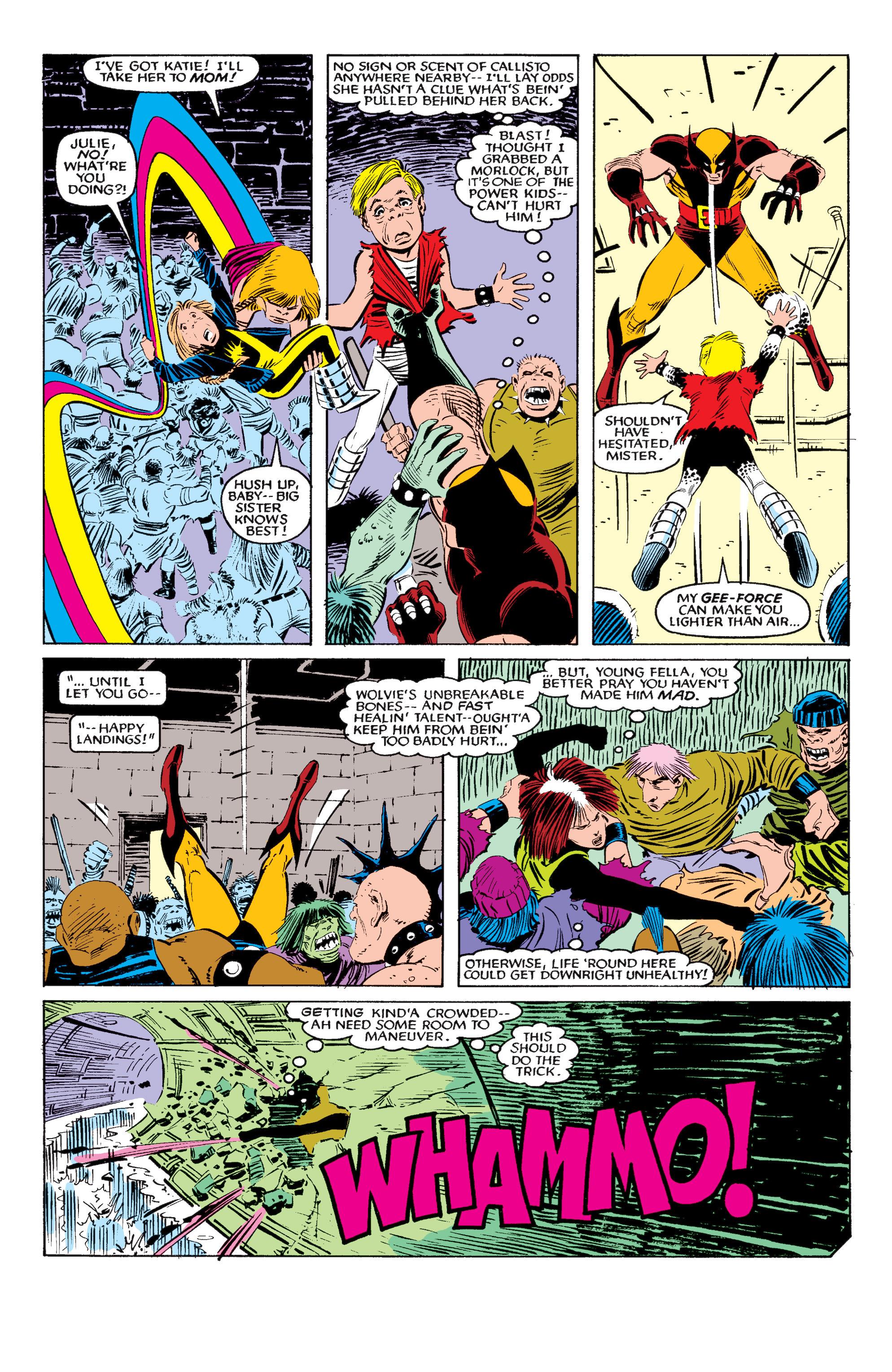 Read online Uncanny X-Men (1963) comic -  Issue #195 - 17