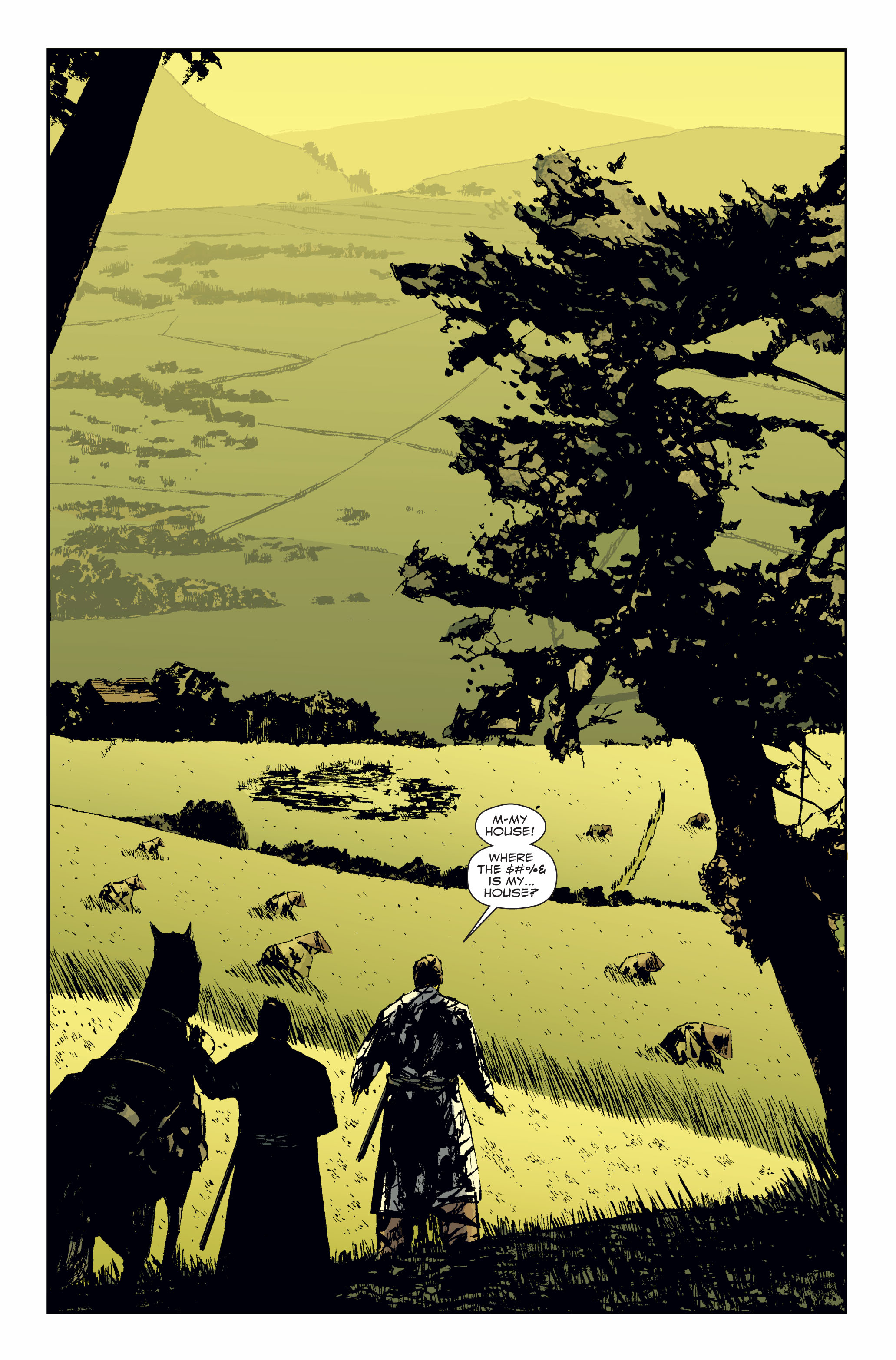 Read online 5 Ronin (2011) comic -  Issue #3 - 5