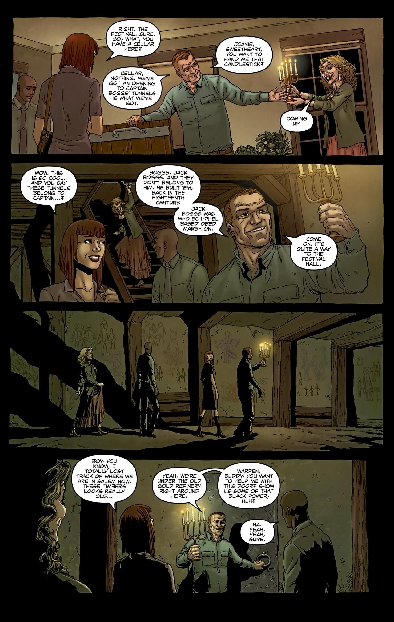 Read online Alan Moore's Neonomicon comic -  Issue #2 - 21