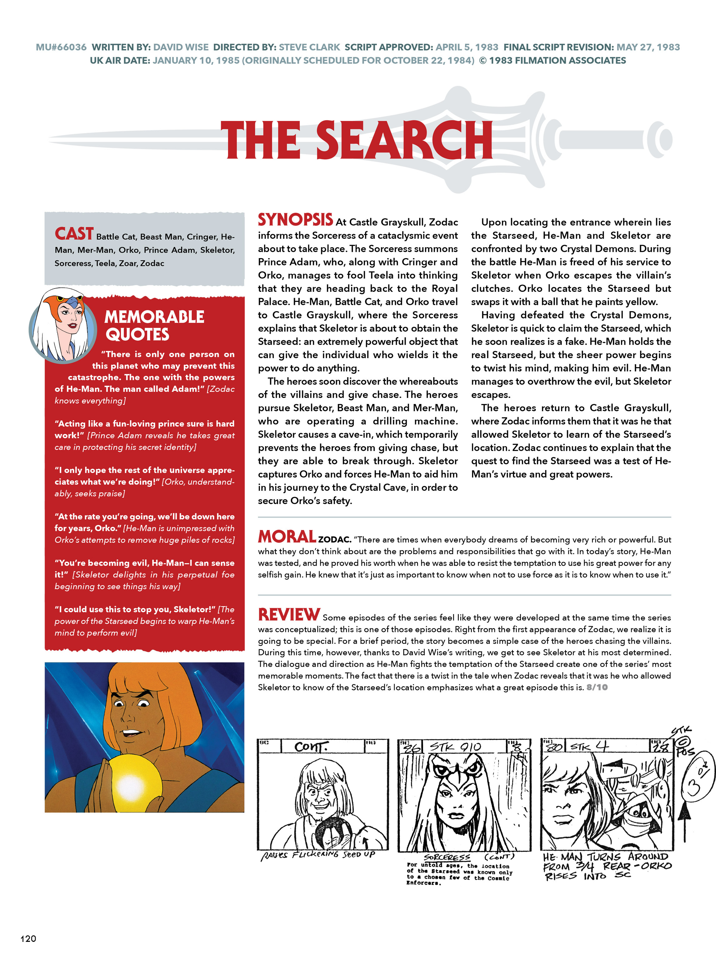 Read online He-Man and She-Ra: A Complete Guide to the Classic Animated Adventures comic -  Issue # TPB (Part 1) - 120