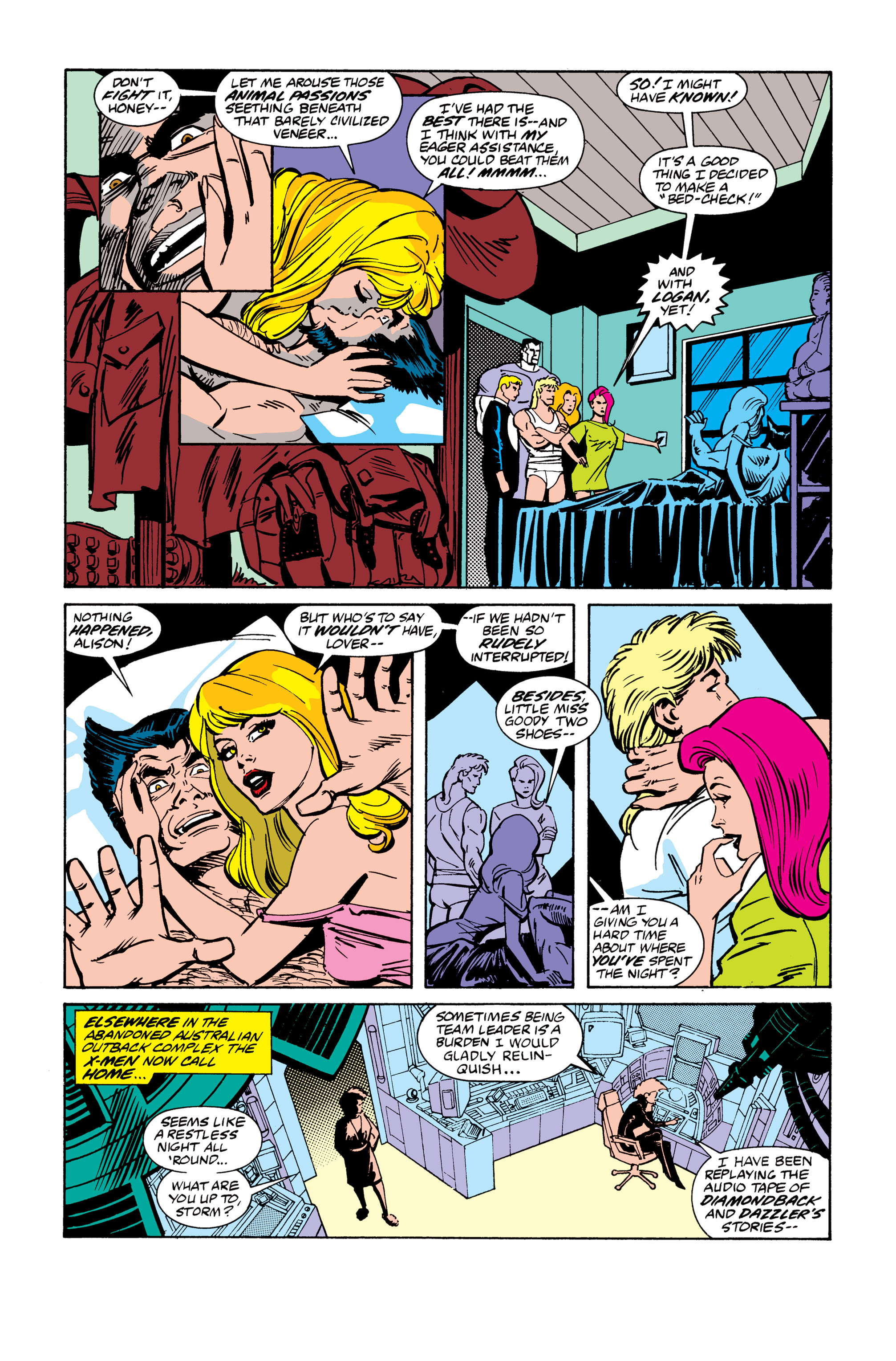 Read online Uncanny X-Men (1963) comic -  Issue # _Annual 13 - 4