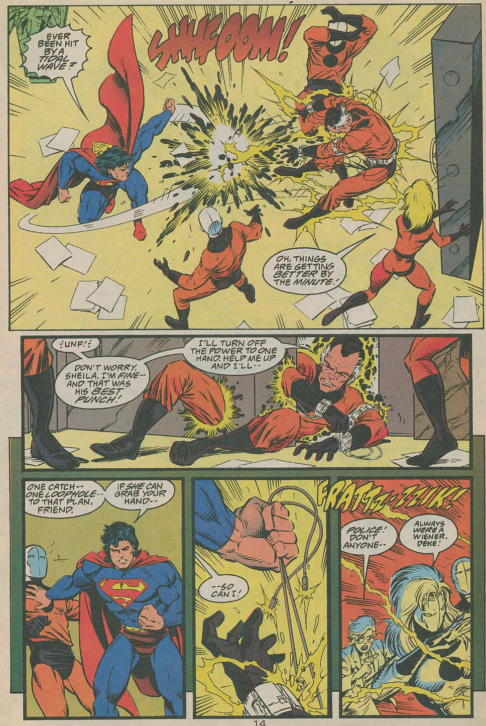 Read online Adventures of Superman (1987) comic -  Issue #505 - 15