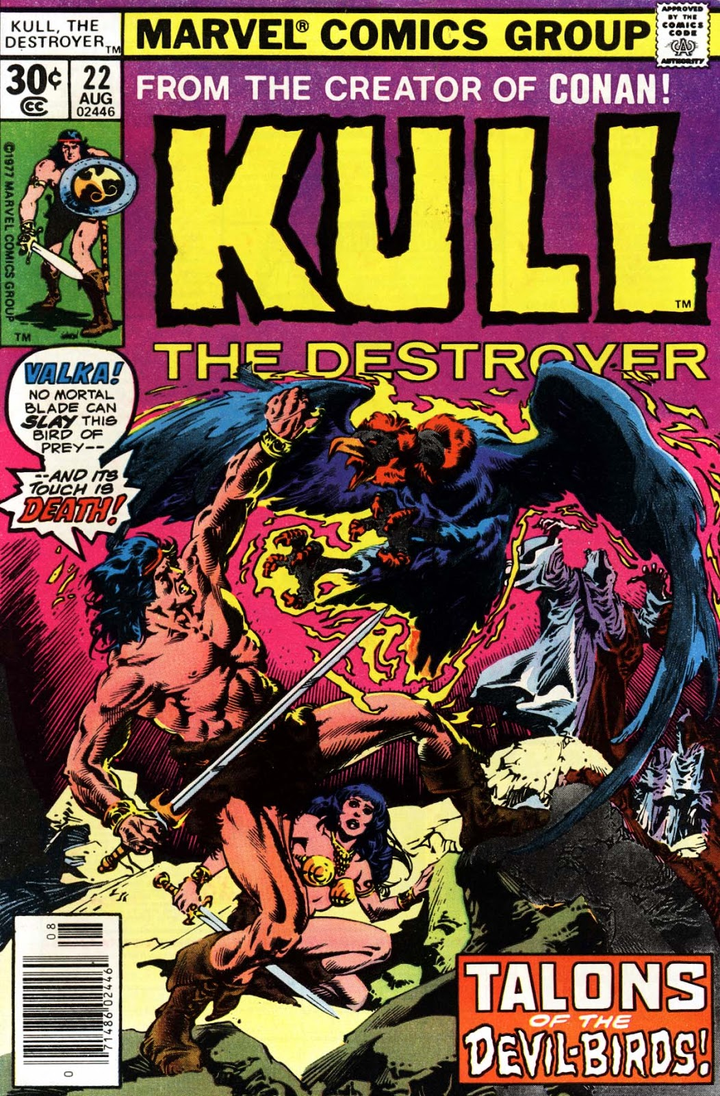 Kull The Destroyer issue 22 - Page 1