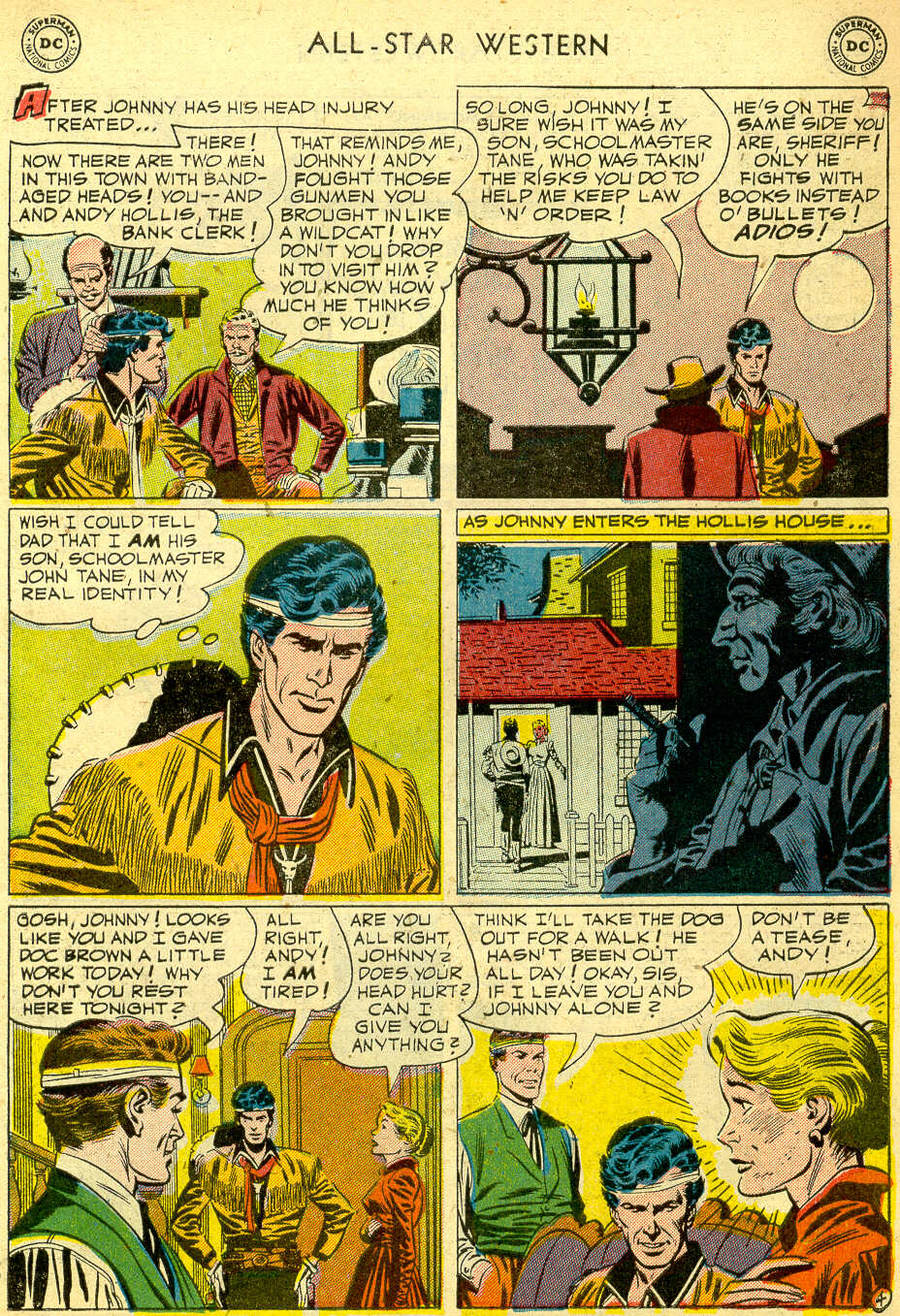 Read online All-Star Western (1951) comic -  Issue #68 - 31
