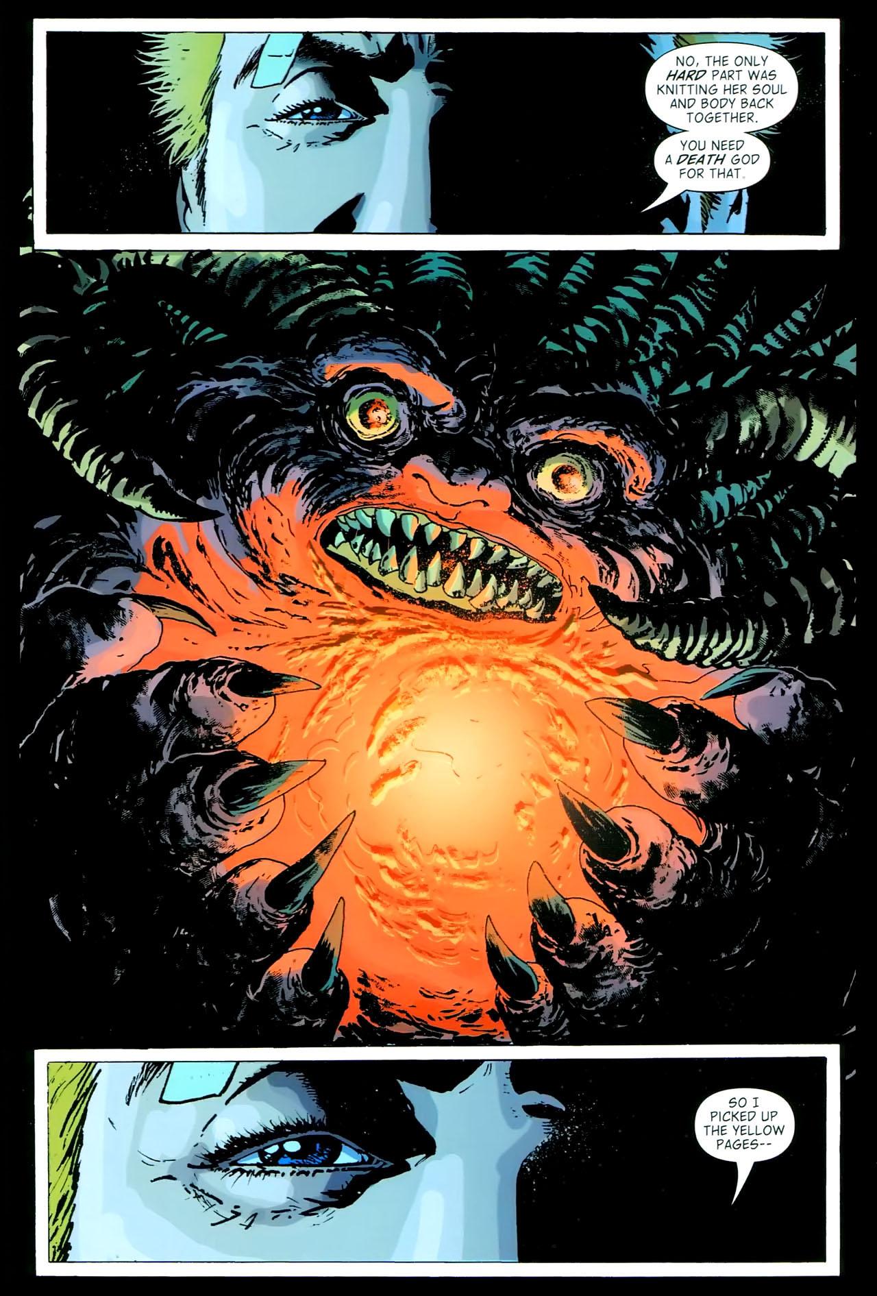Read online John Constantine Hellblazer: All His Engines comic -  Issue # Full - 107