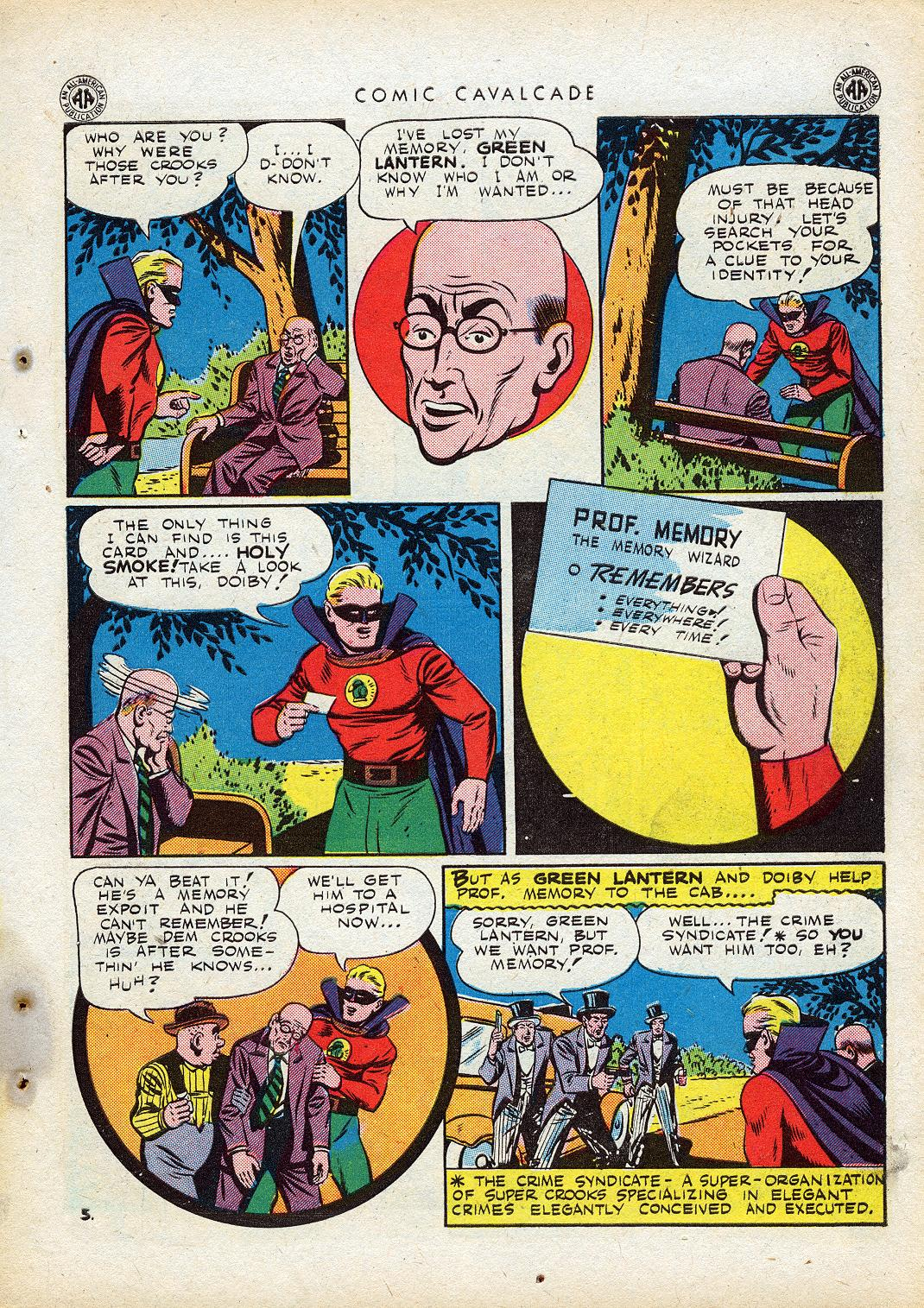 Comic Cavalcade issue 10 - Page 43