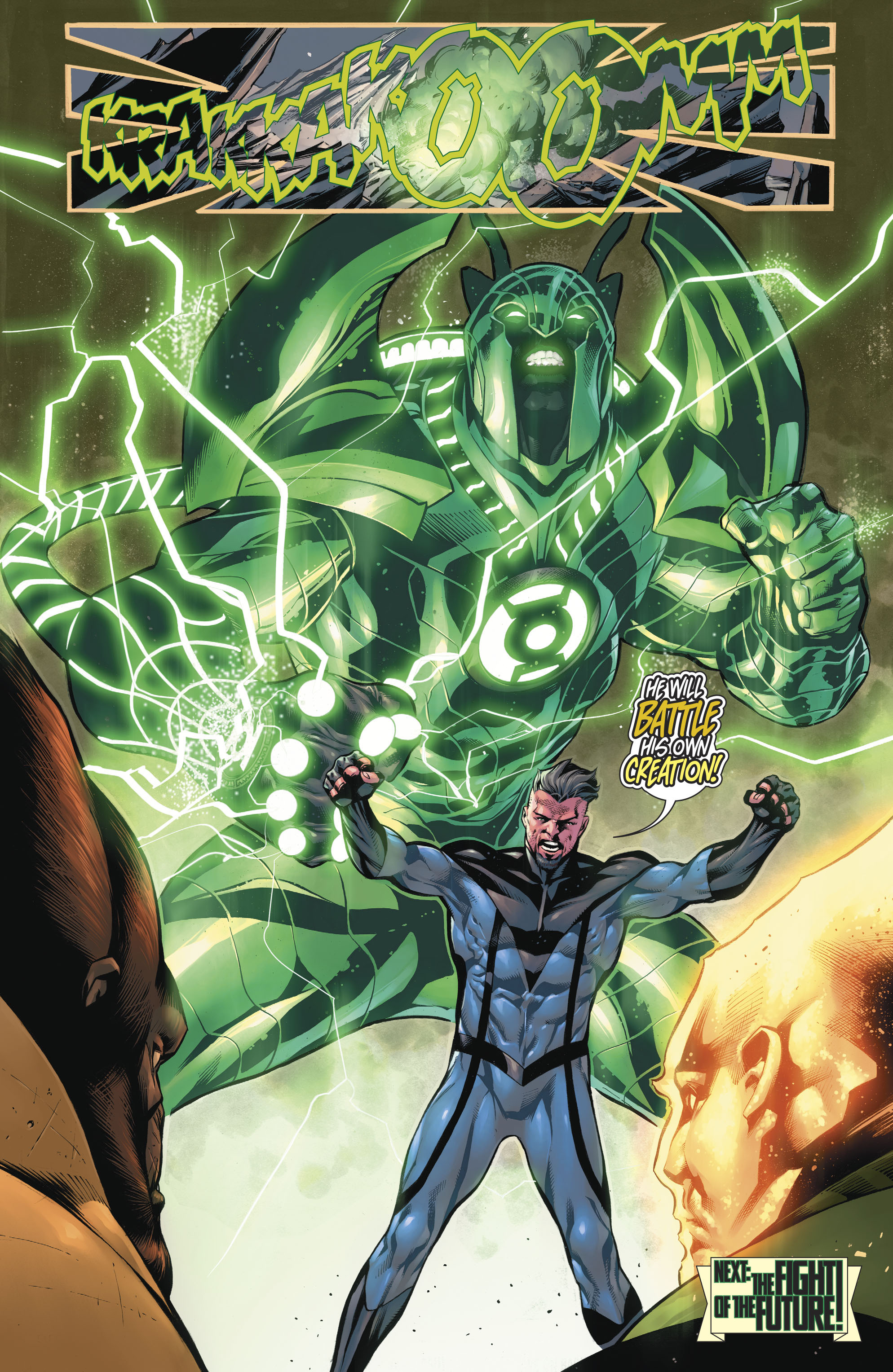 Read online Hal Jordan And The Green Lantern Corps comic -  Issue #20 - 23