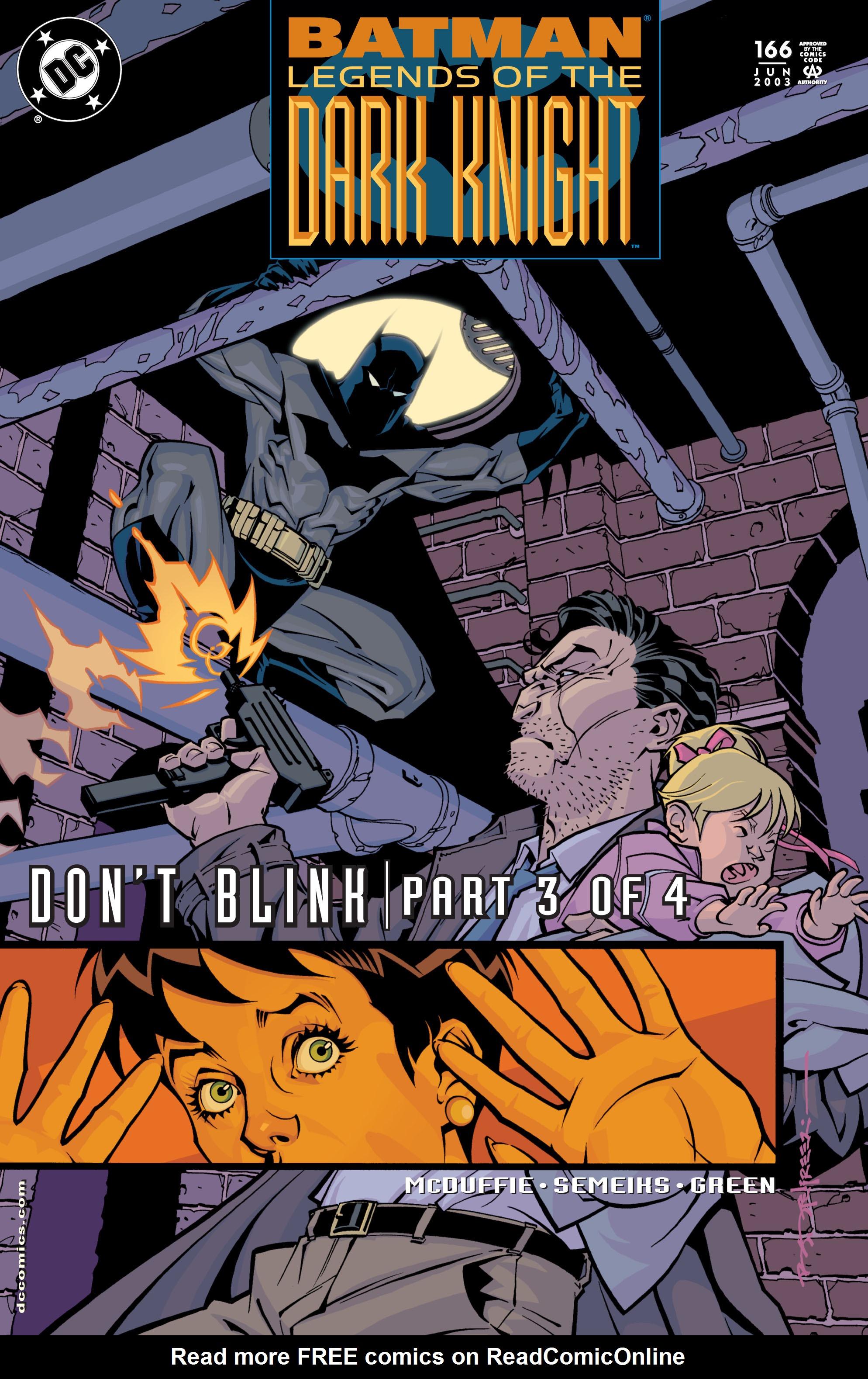 Batman: Legends of the Dark Knight 166 Page 1