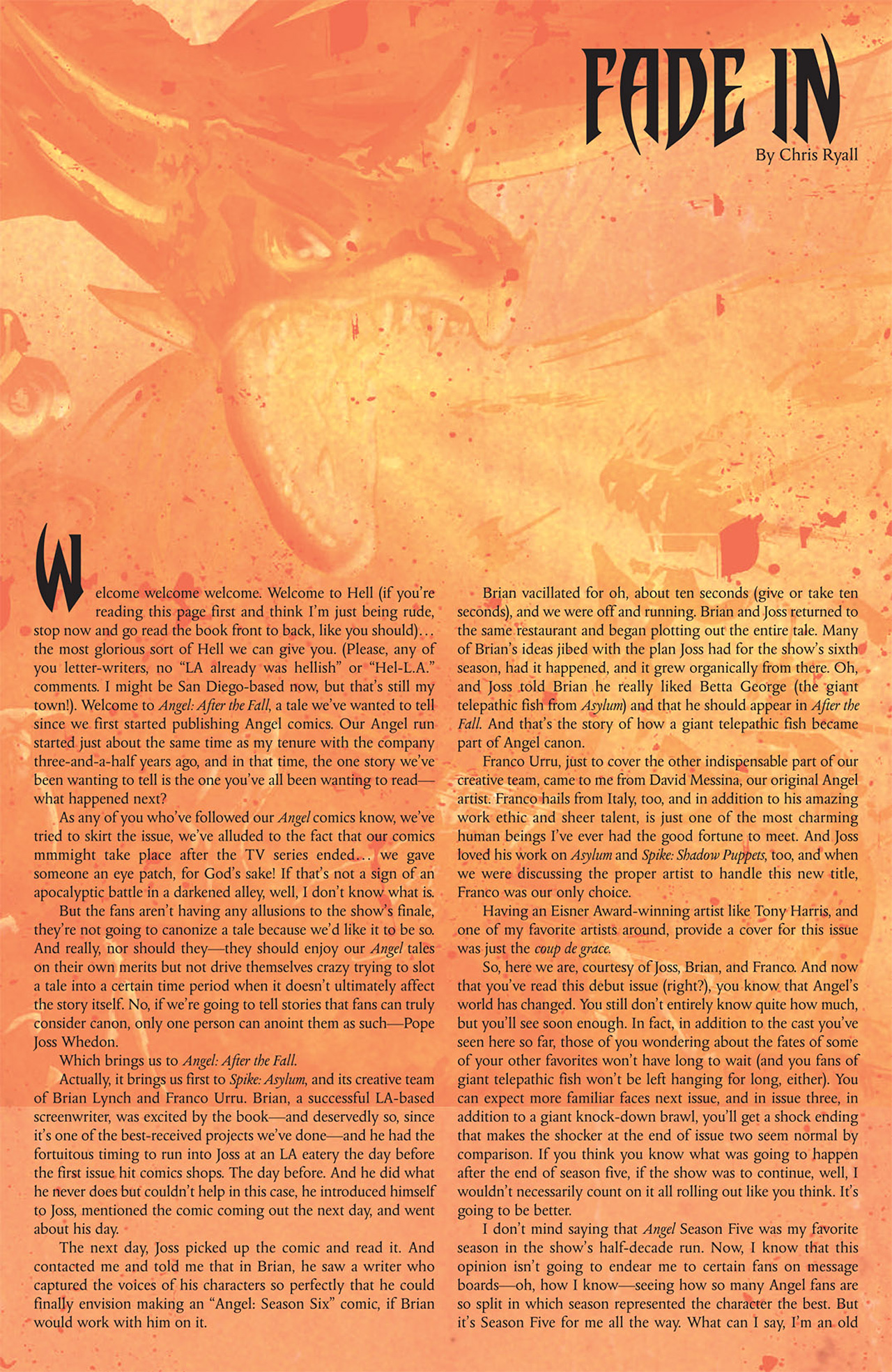 Read online Angel: After The Fall comic -  Issue #1 - 31