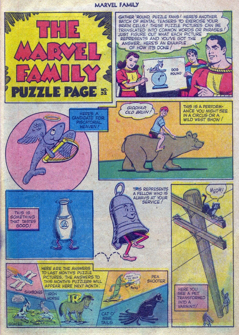 The Marvel Family issue 52 - Page 26