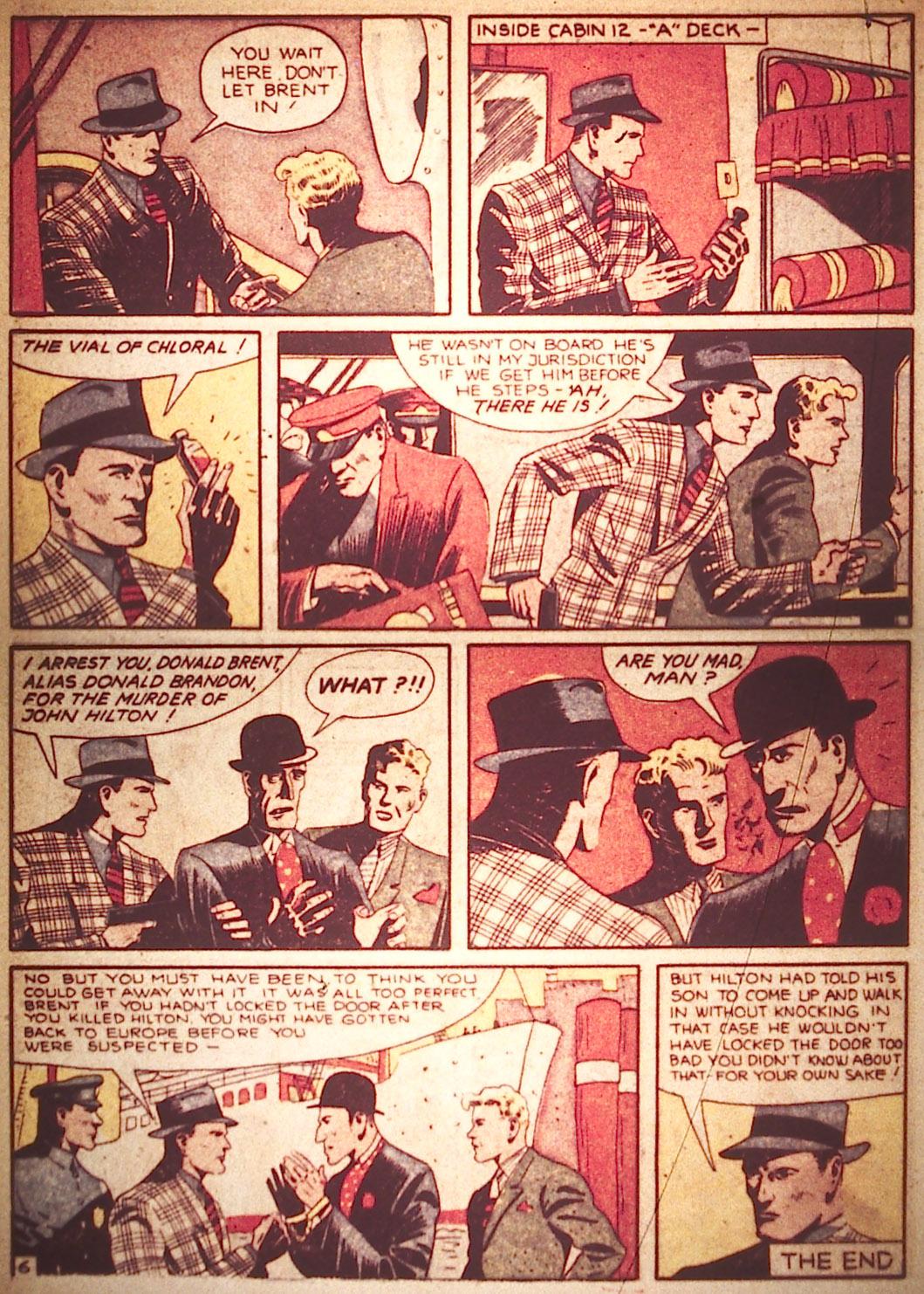 Read online Detective Comics (1937) comic -  Issue #18 - 8