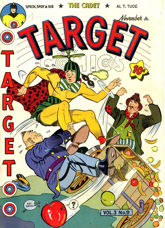 Target Comics 33 Page 1