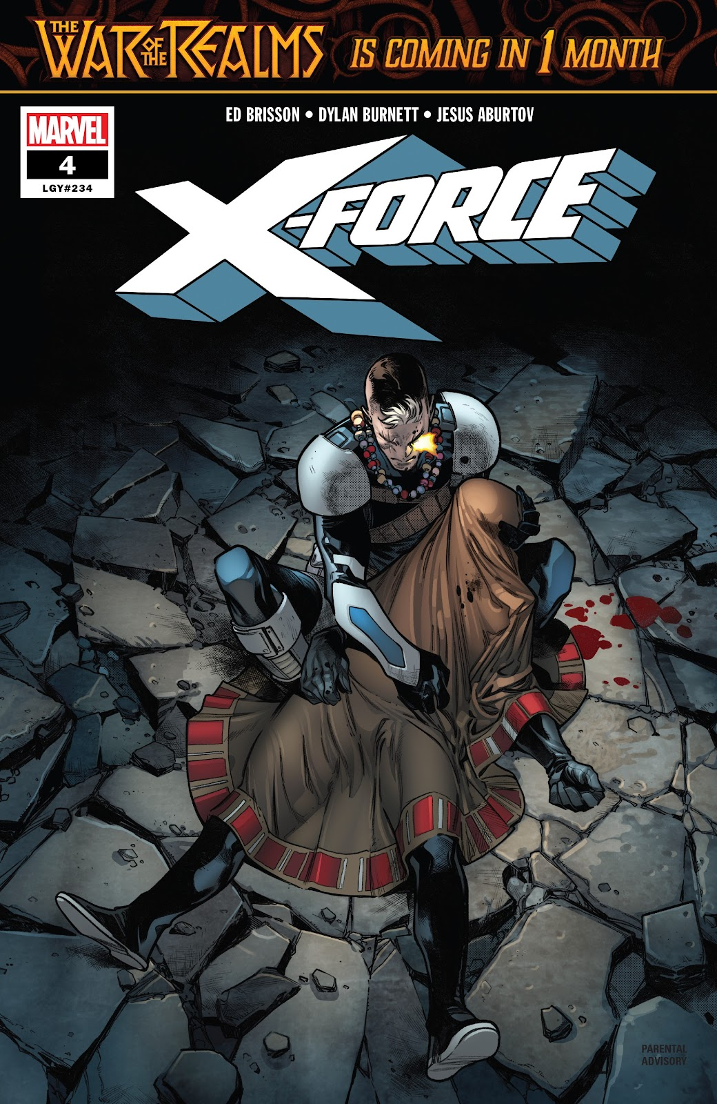 X-Force (2019) issue 4 - Page 1
