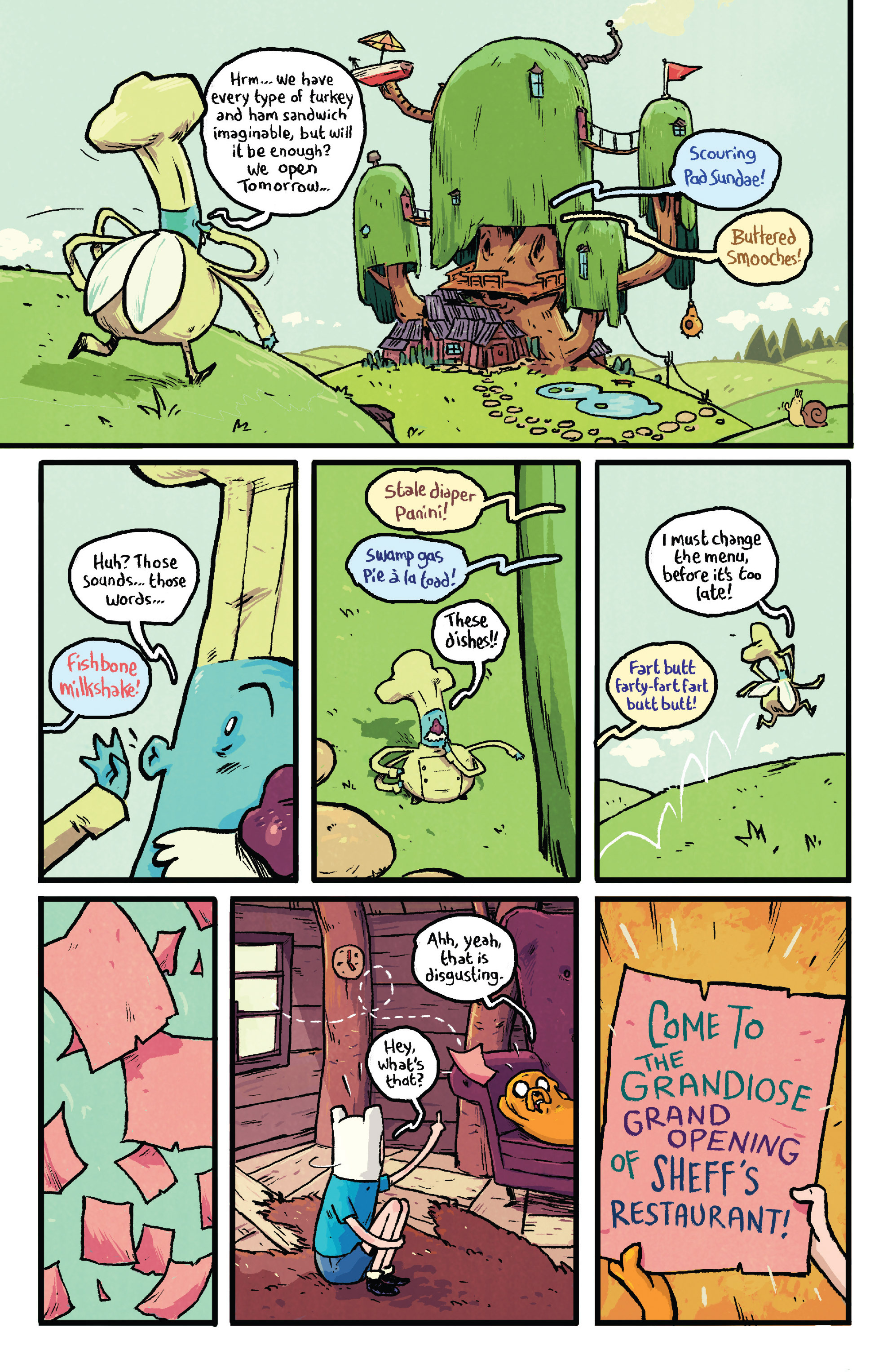 Read online Adventure Time comic -  Issue #29 - 20