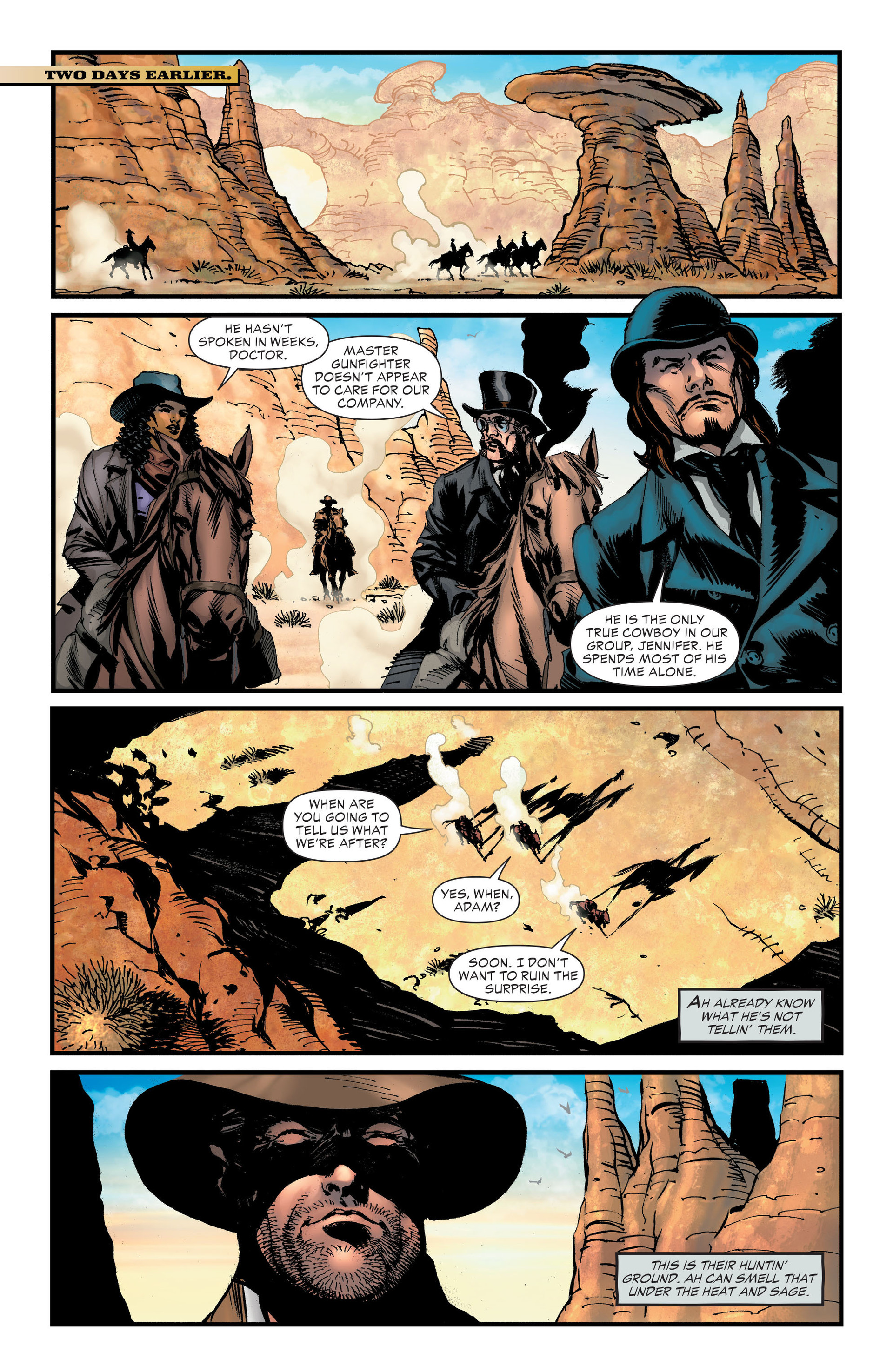 Read online All-Star Western (2011) comic -  Issue #20 - 22