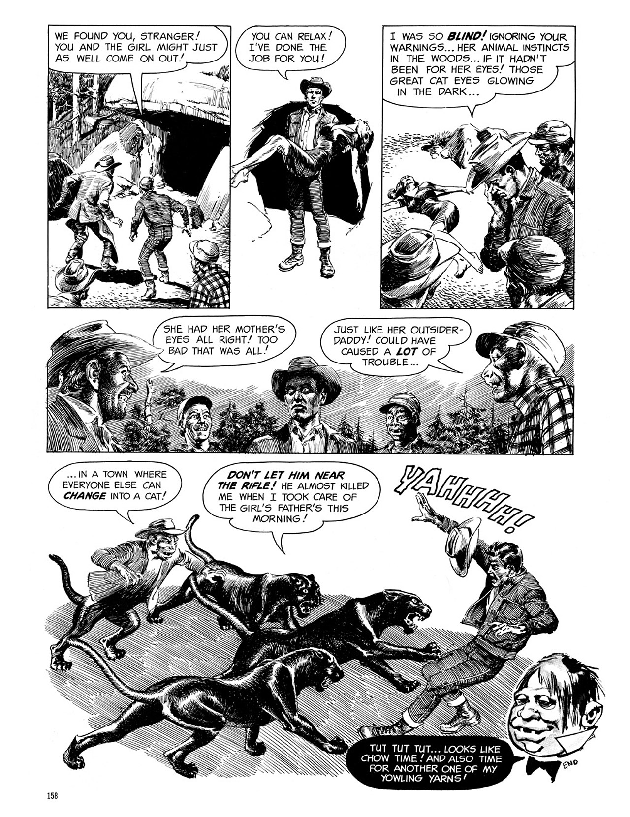 Read online Eerie Archives comic -  Issue # TPB 3 - 159