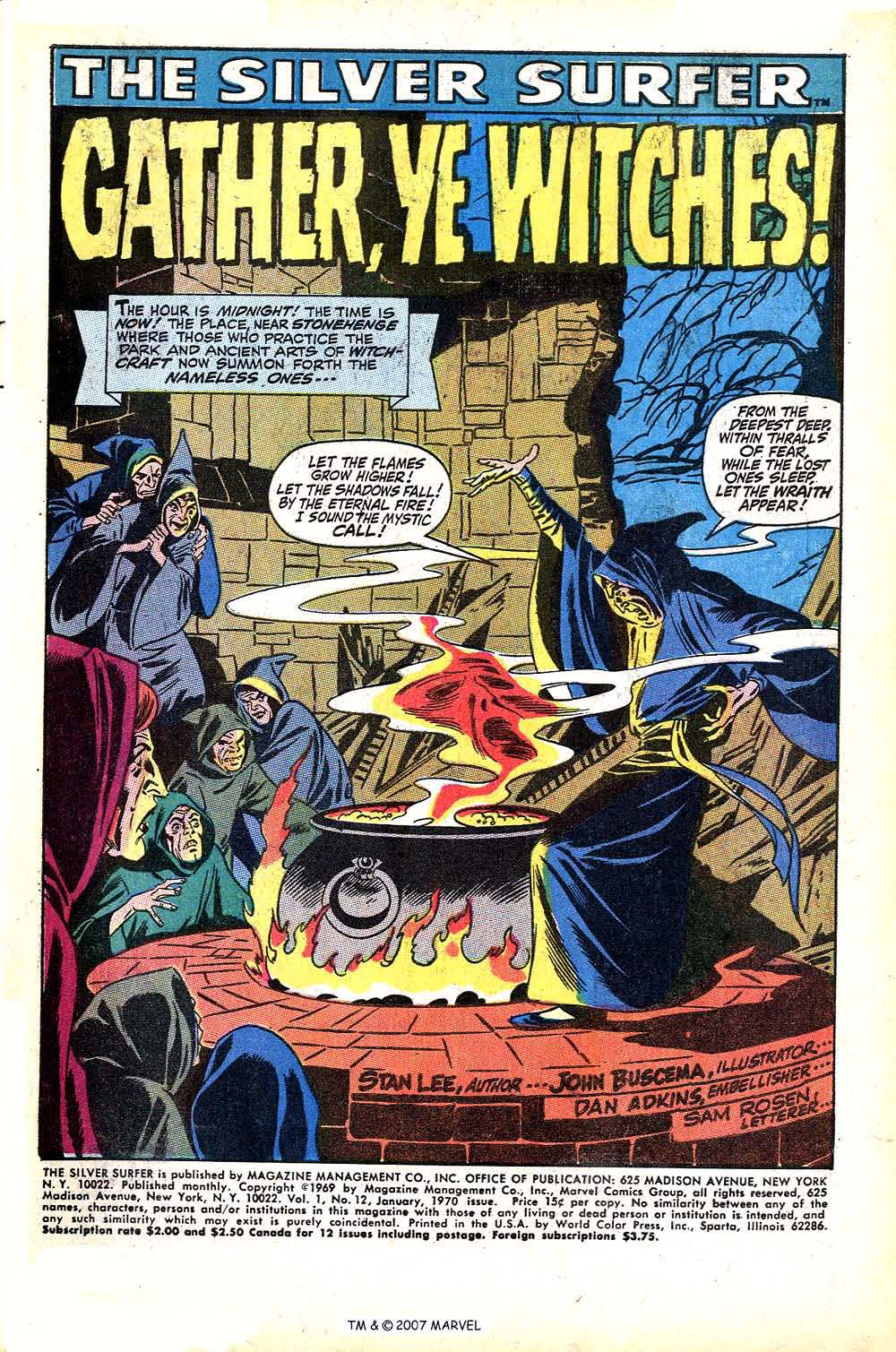 Read online Silver Surfer (1968) comic -  Issue #12 - 3