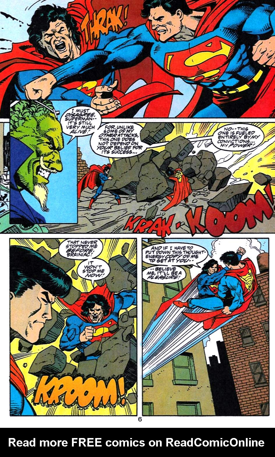 Read online Adventures of Superman (1987) comic -  Issue #519 - 7