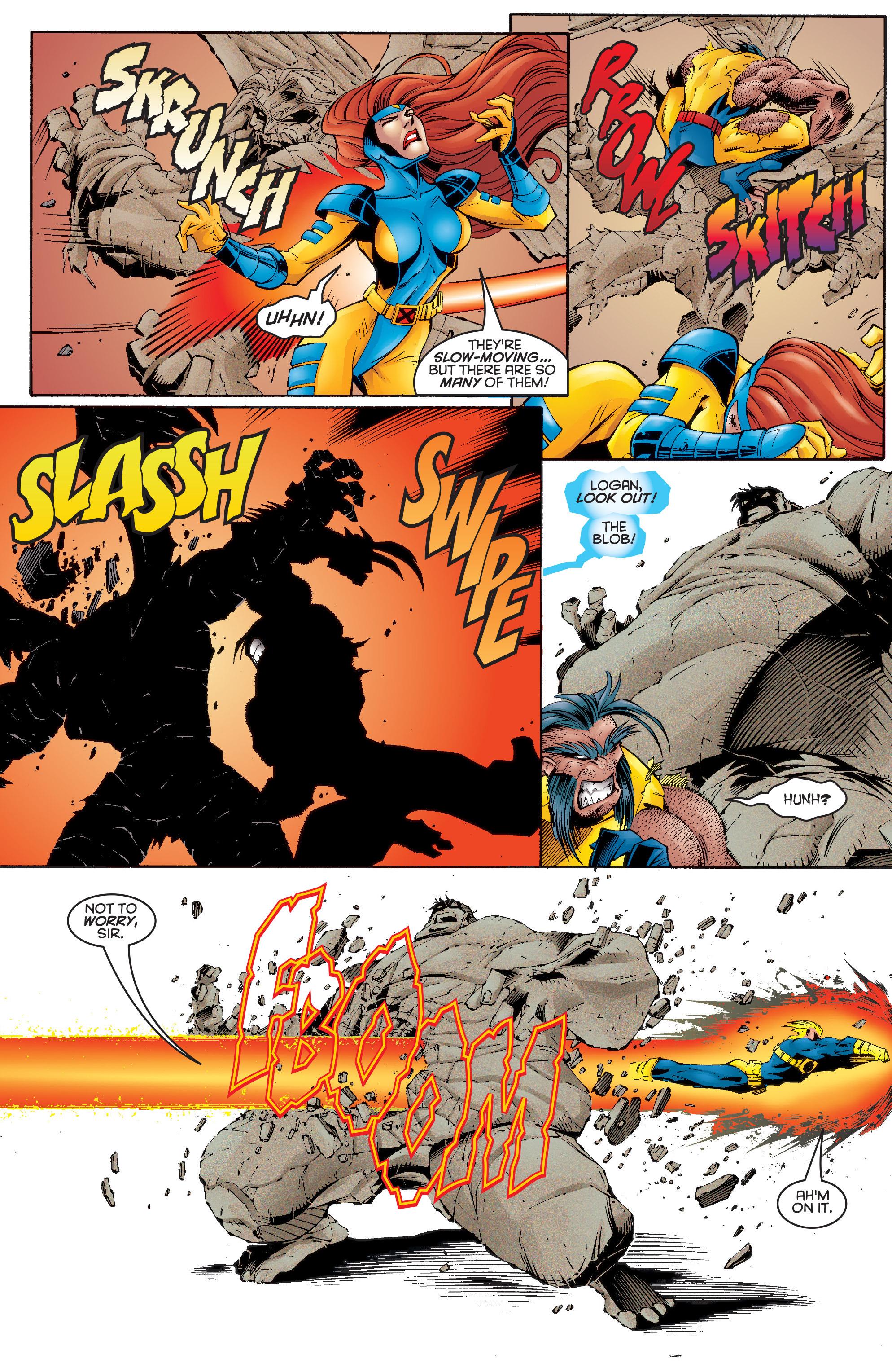 Read online Uncanny X-Men (1963) comic -  Issue #332 - 16
