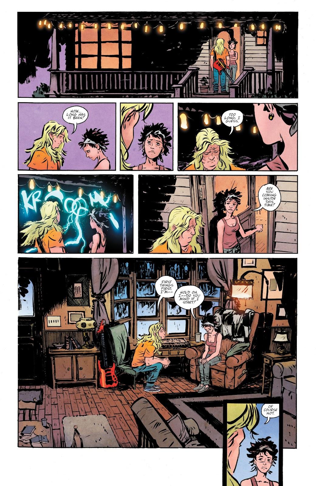 Read online Murder Falcon comic -  Issue #5 - 8