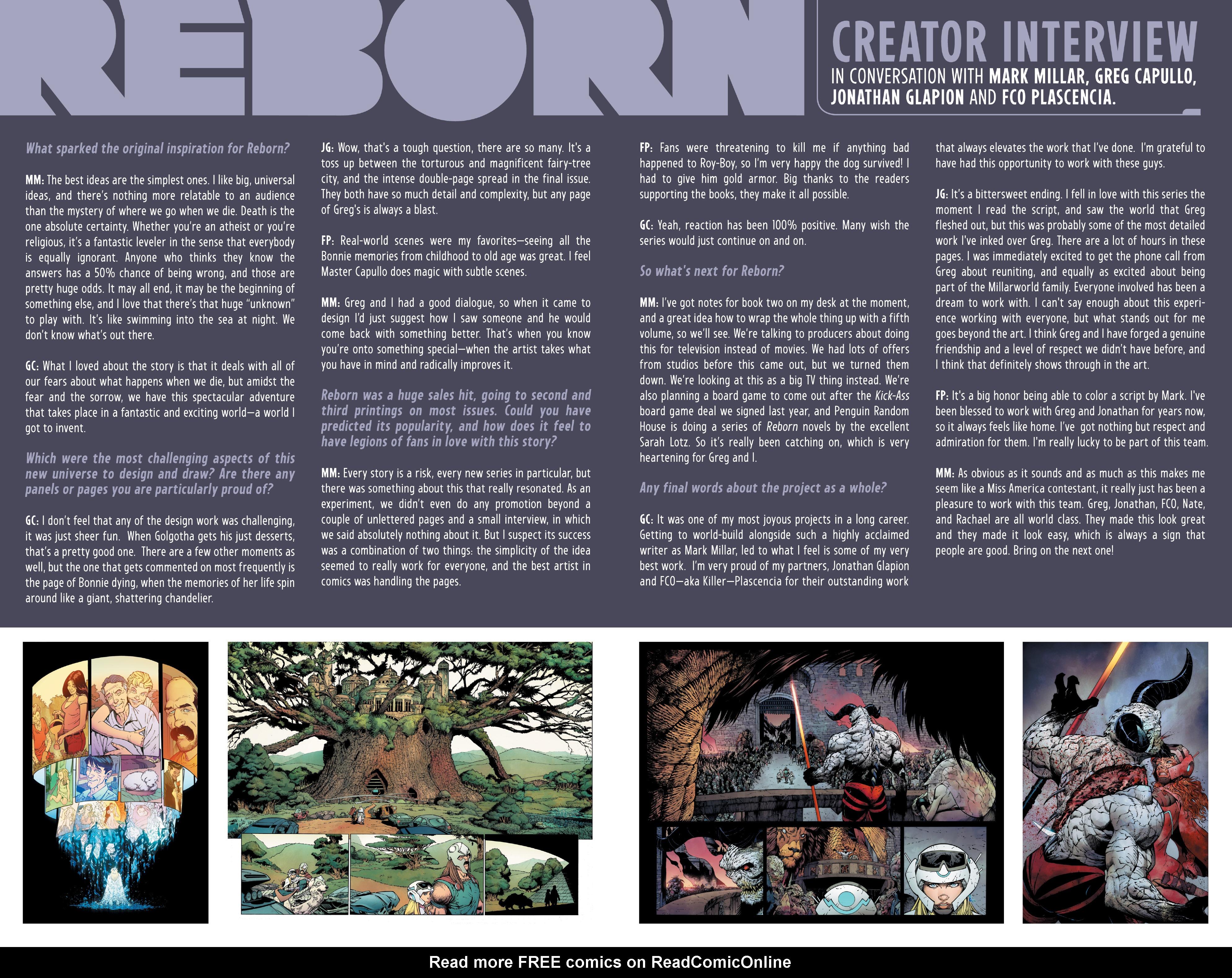 Read online Reborn comic -  Issue #6 - 41