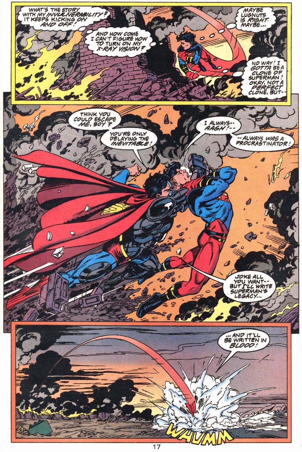 Read online Adventures of Superman (1987) comic -  Issue #503 - 18