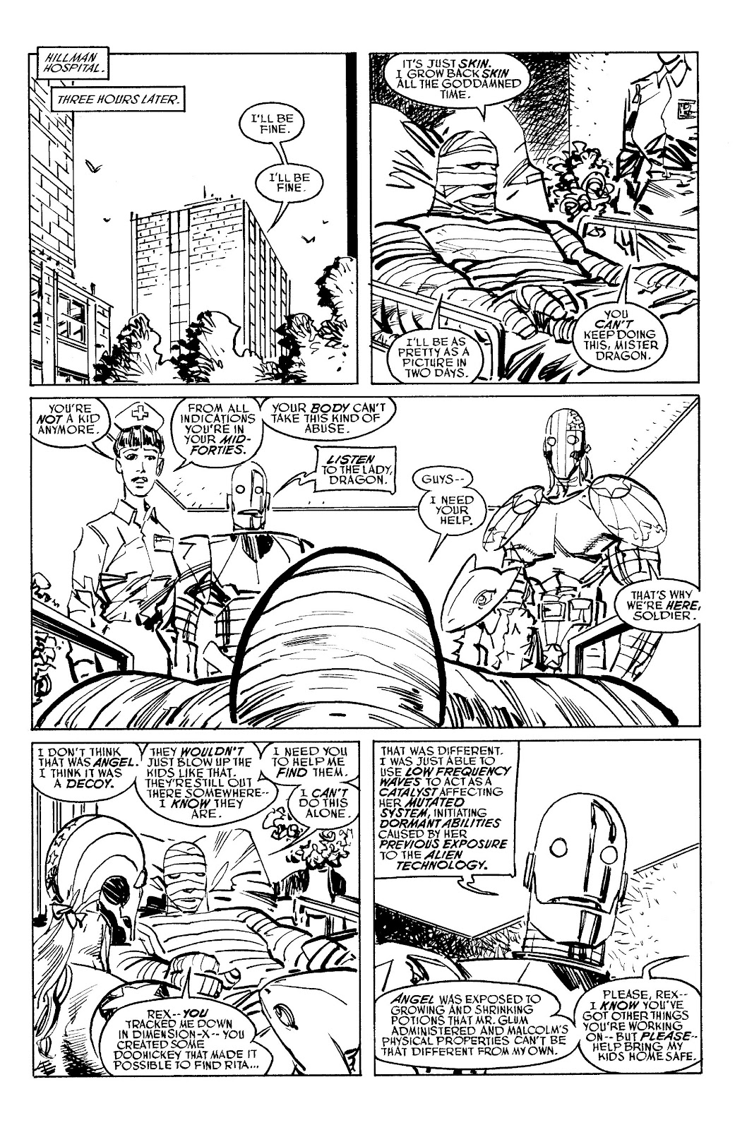 Read online Savage Dragon Archives comic -  Issue # TPB 6 (Part 5) - 20