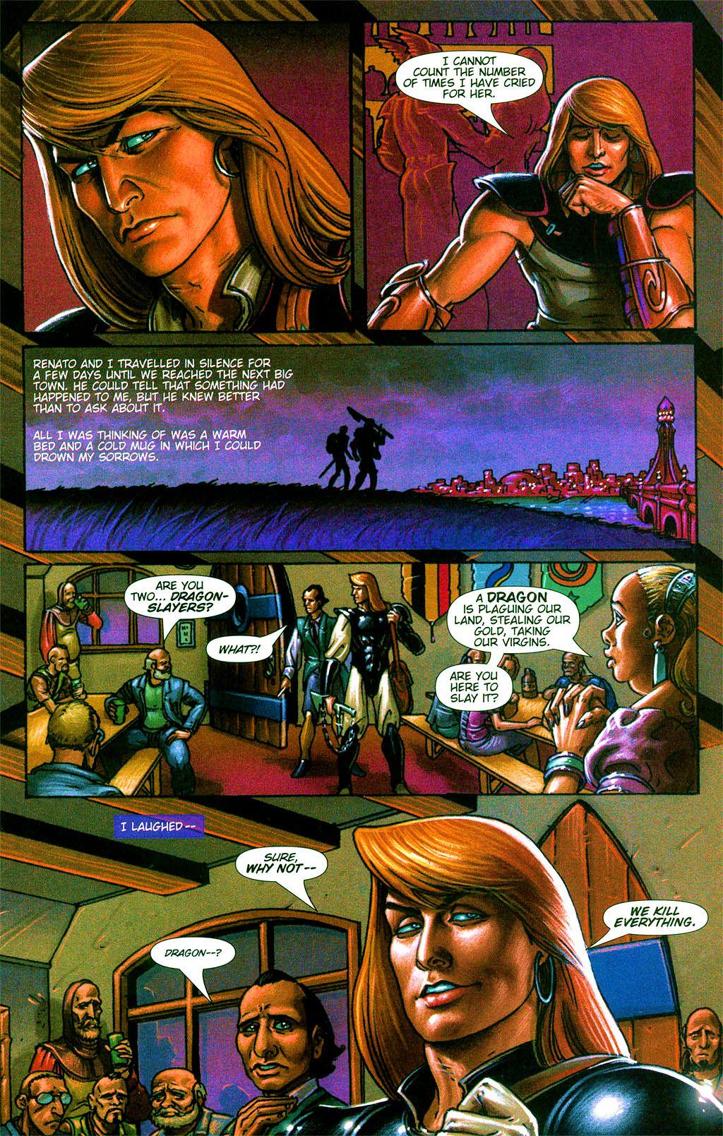 Read online Dawn: Three Tiers comic -  Issue #2 - 22