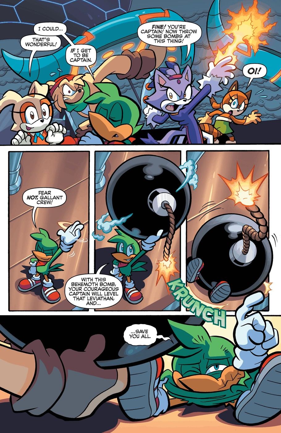 Read online Sonic Universe comic -  Issue #57 - 19