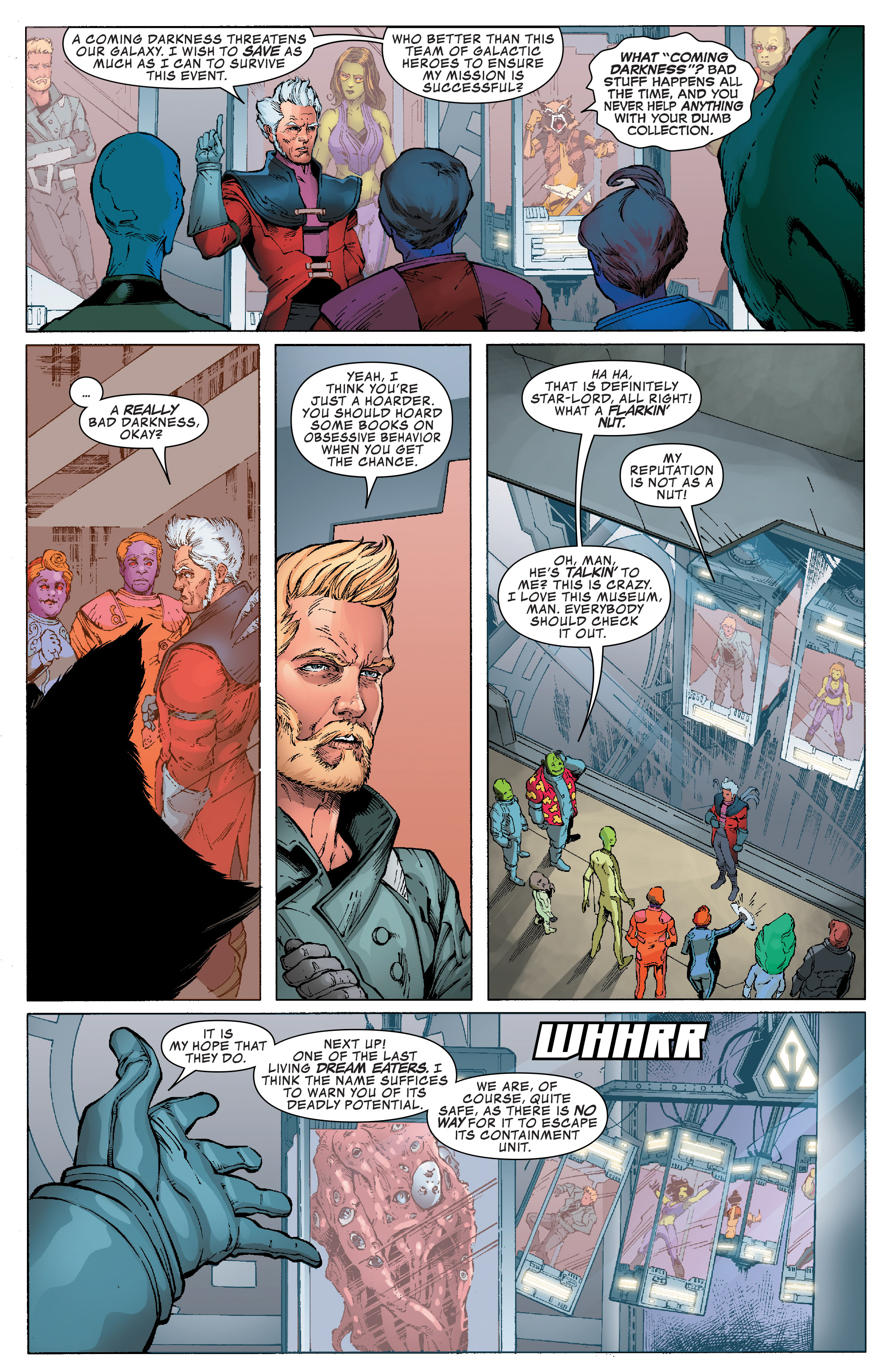 Read online Guardians of the Galaxy: Mission Breakout comic -  Issue # Full - 7