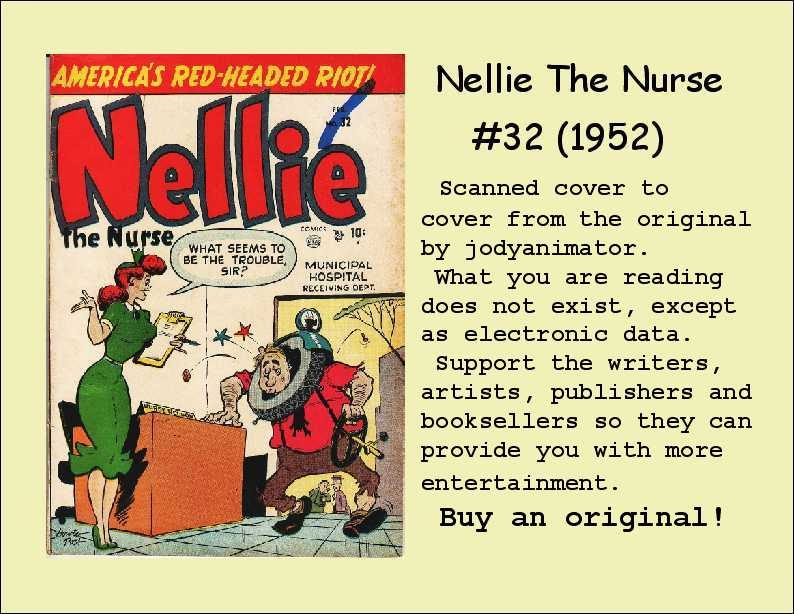 Read online Nellie The Nurse (1945) comic -  Issue #32 - 37