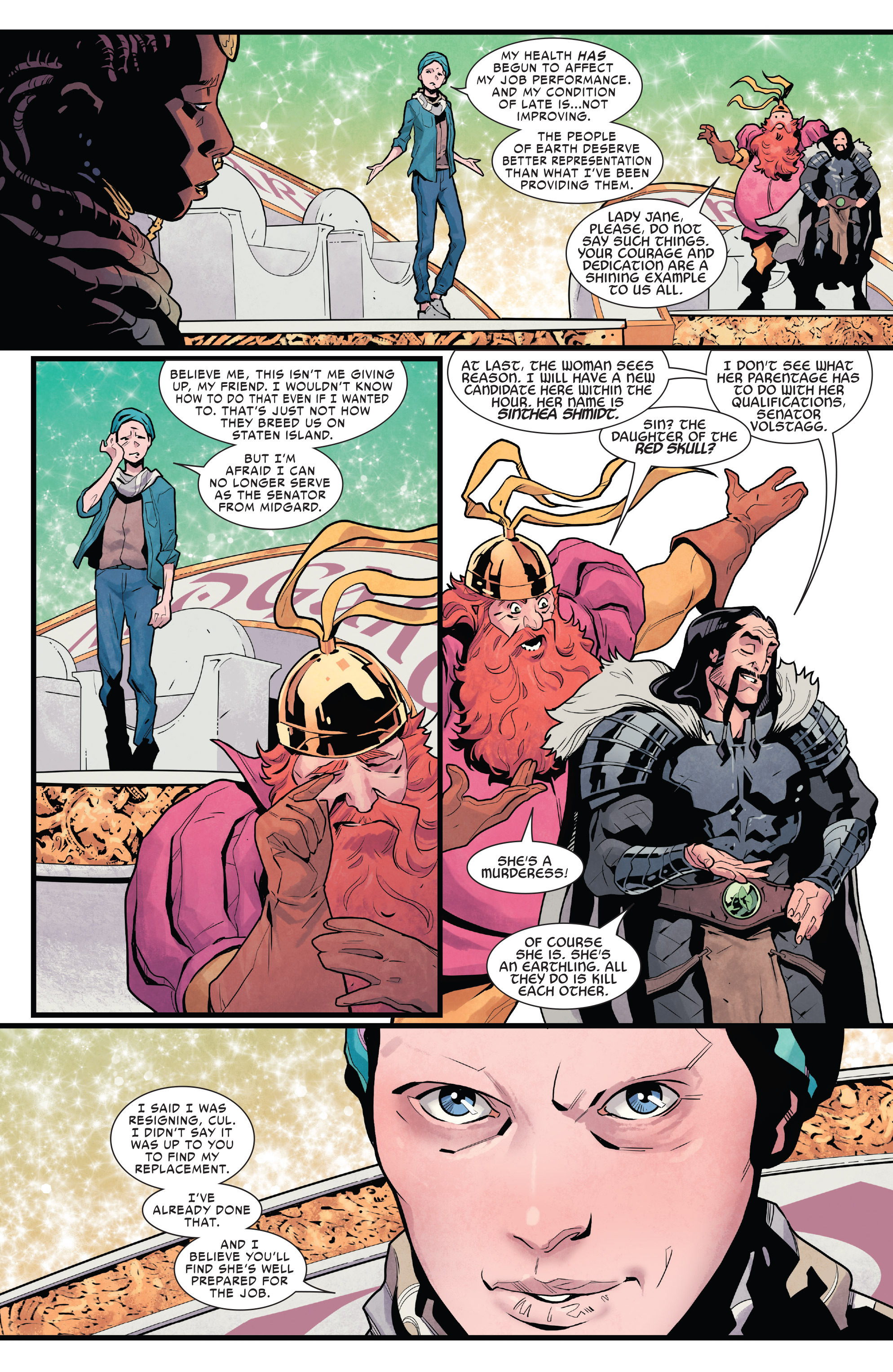 Read online Mighty Thor (2016) comic -  Issue #19 - 16