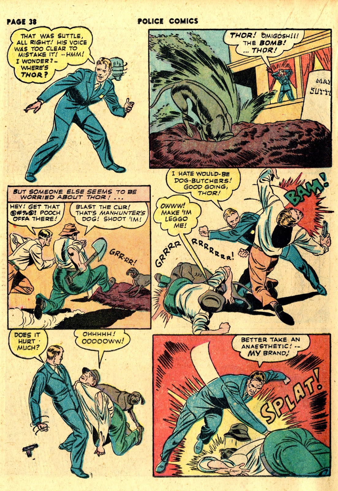 Police Comics issue 19 - Page 40