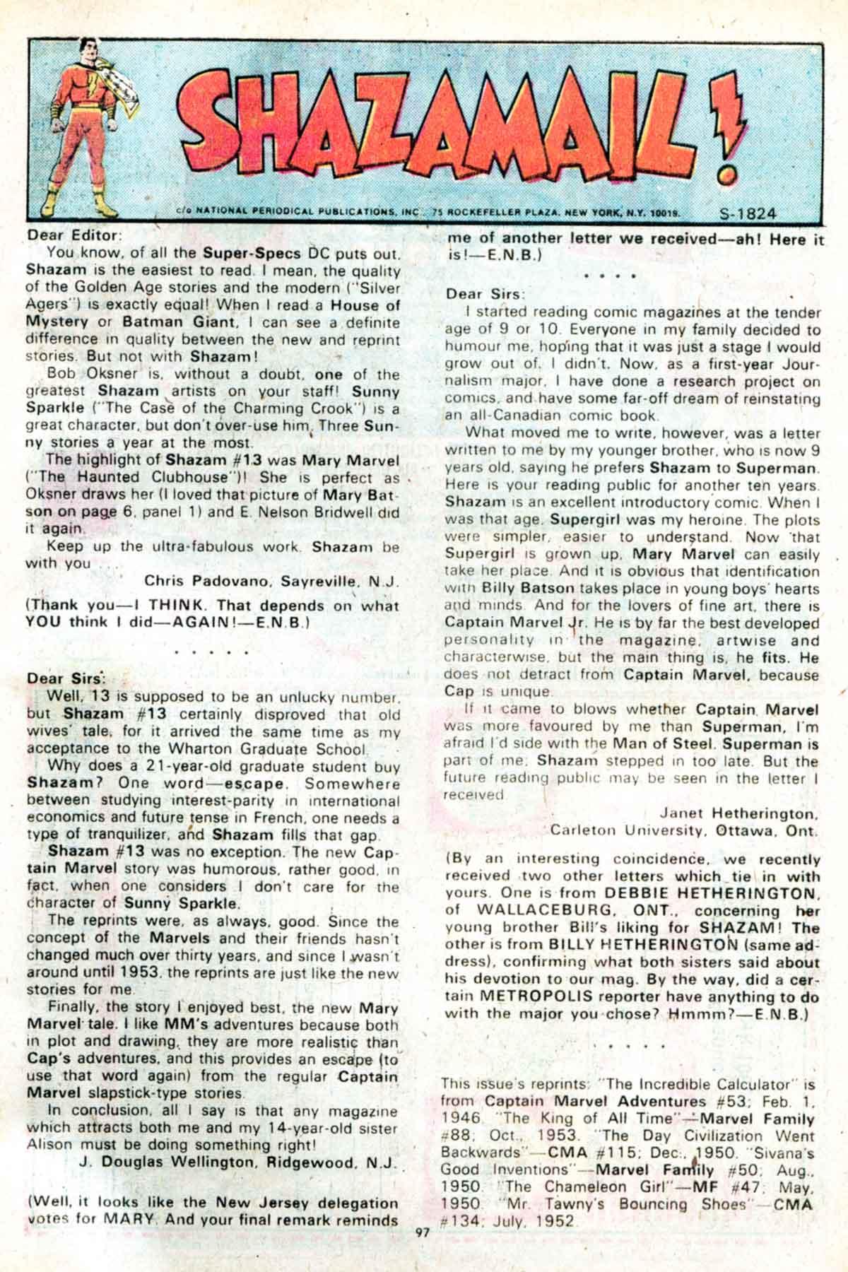 Read online Shazam! (1973) comic -  Issue #15 - 97