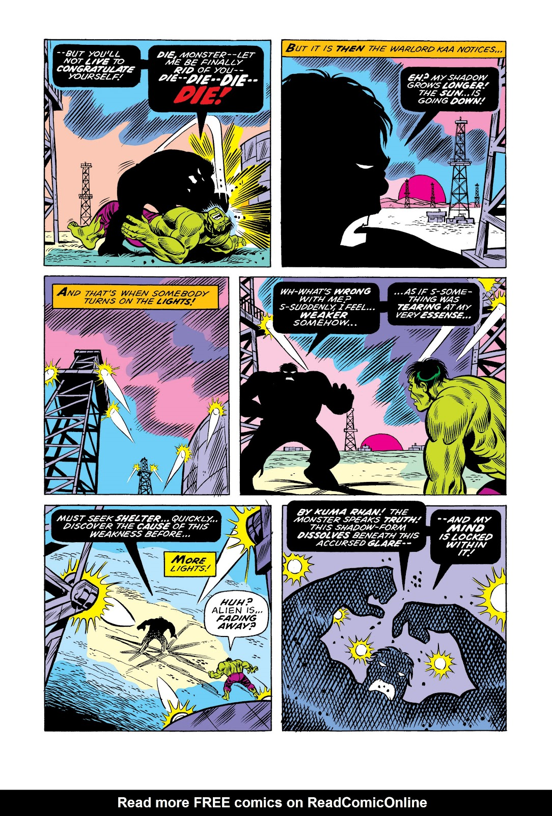 Read online Marvel Masterworks: The Incredible Hulk comic -  Issue # TPB 11 (Part 1) - 23