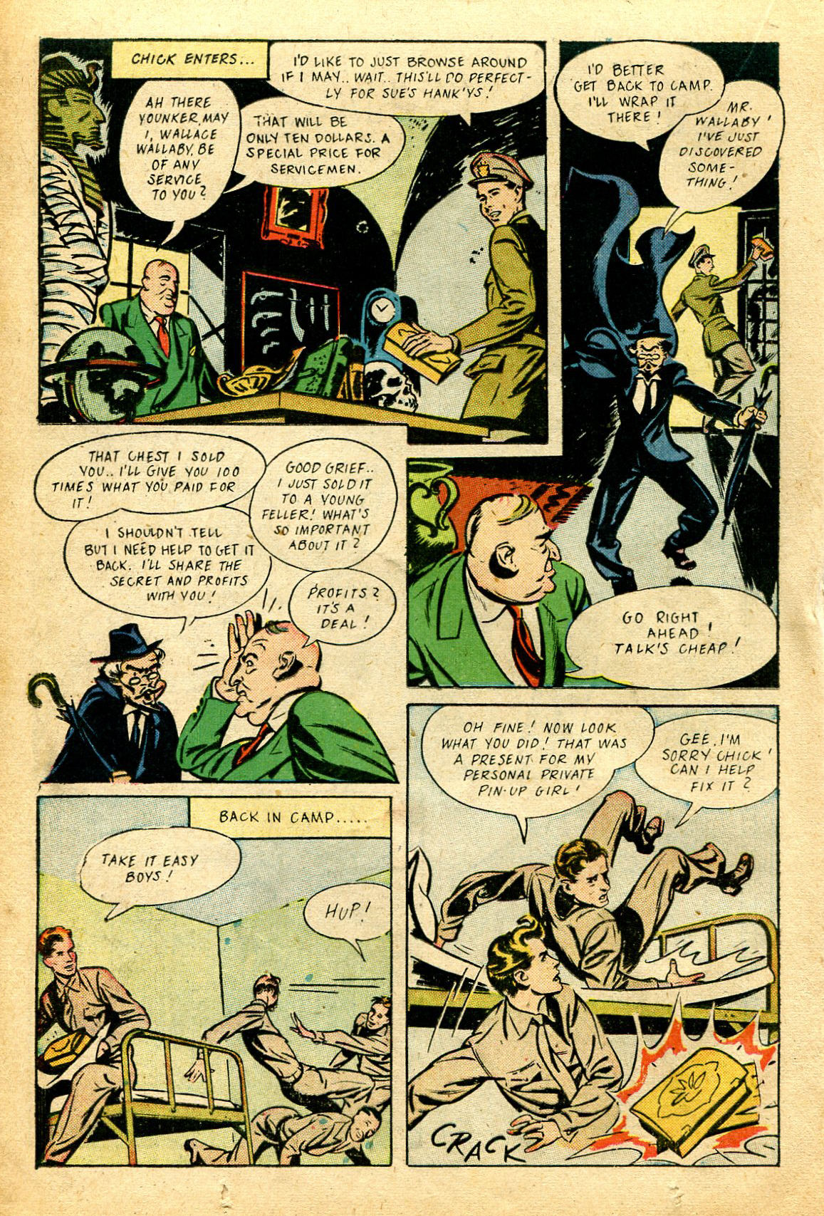 Read online Shadow Comics comic -  Issue #51 - 27