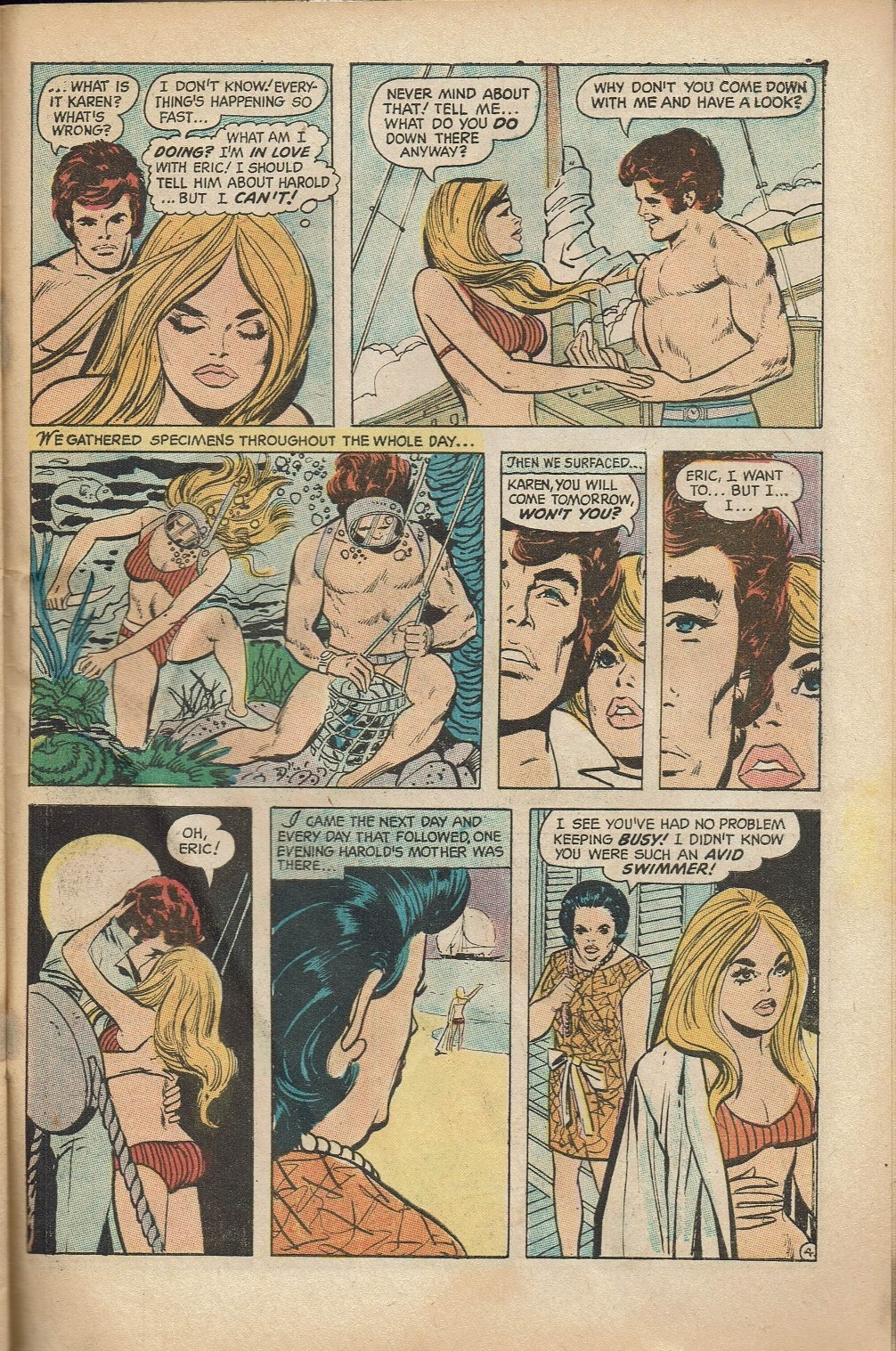 Read online Secret Hearts comic -  Issue #152 - 31
