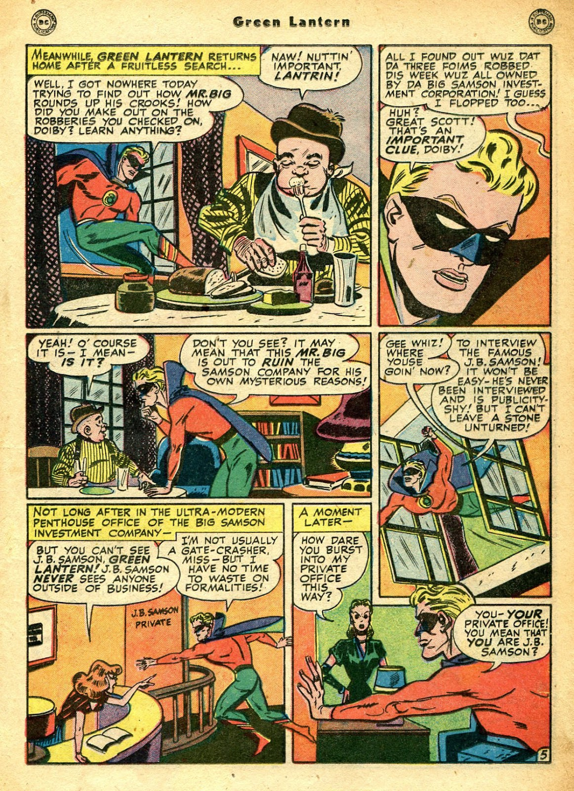 Green Lantern (1941) Issue #33 #33 - English 22