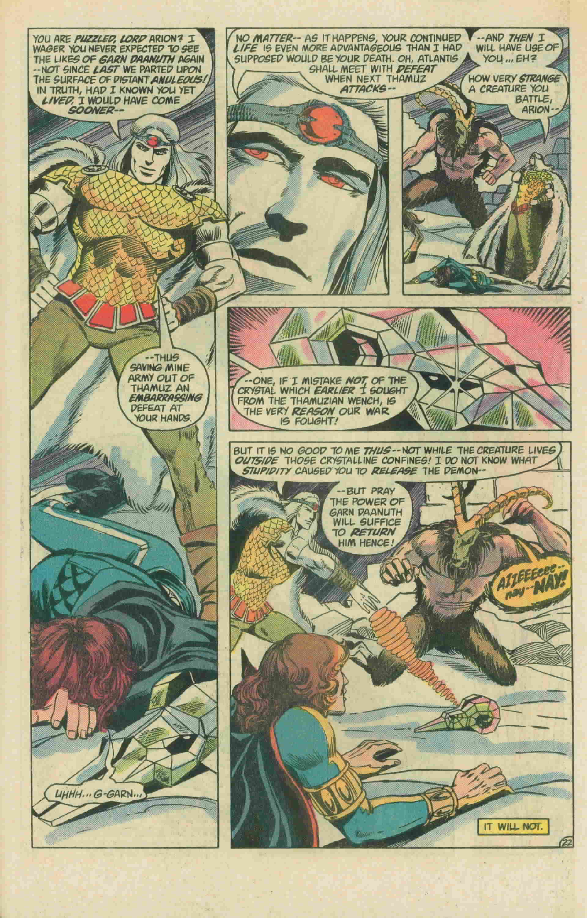 Read online Arion, Lord of Atlantis comic -  Issue #3 - 32