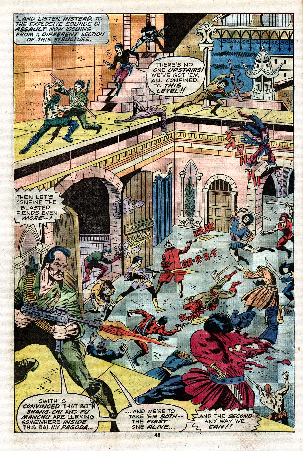 Read online Giant-Size Master of Kung Fu comic -  Issue #2 - 41