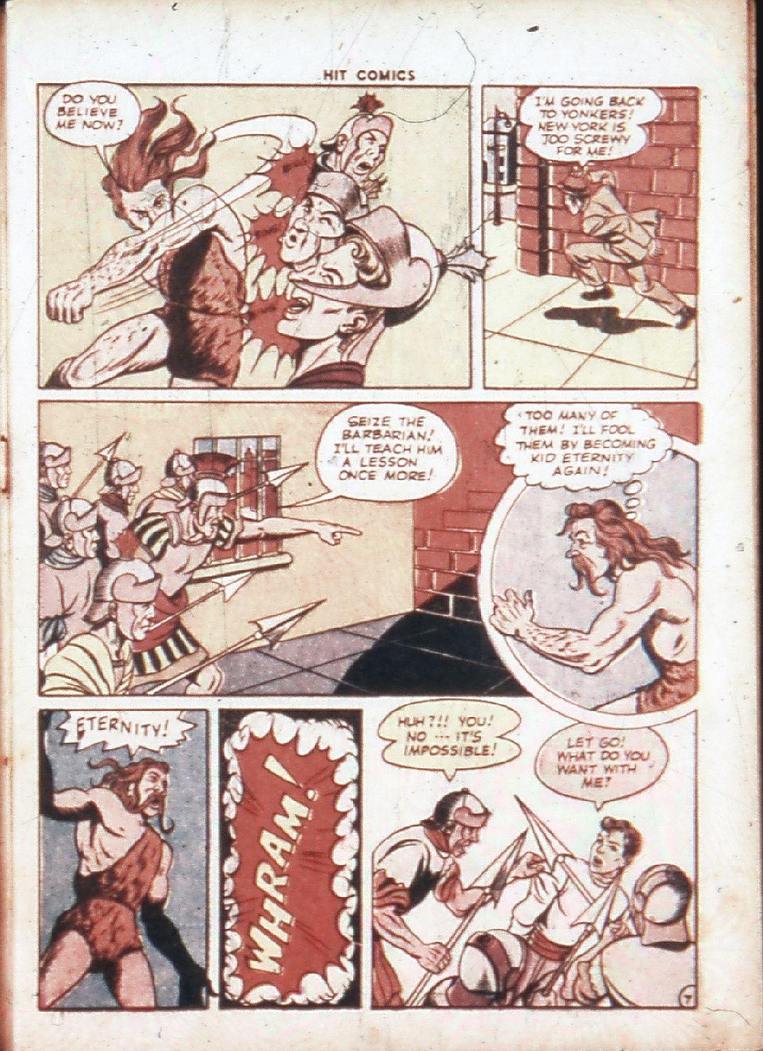 Read online Hit Comics comic -  Issue #30 - 10