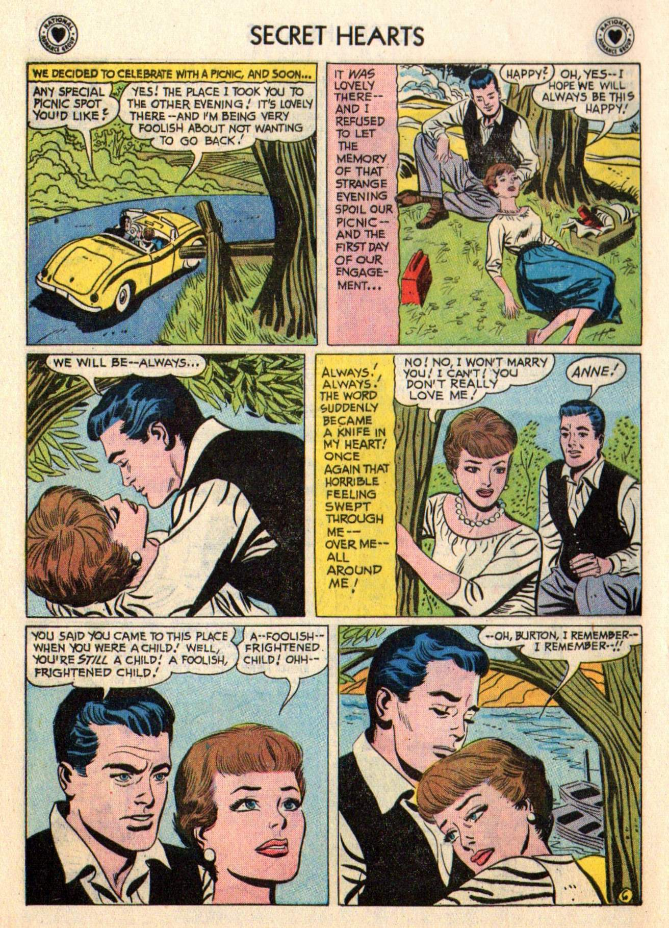 Read online Secret Hearts comic -  Issue #48 - 8