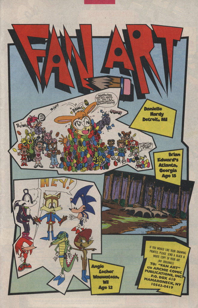 Read online Sonic Quest - The Death Egg Saga comic -  Issue #3 - 33
