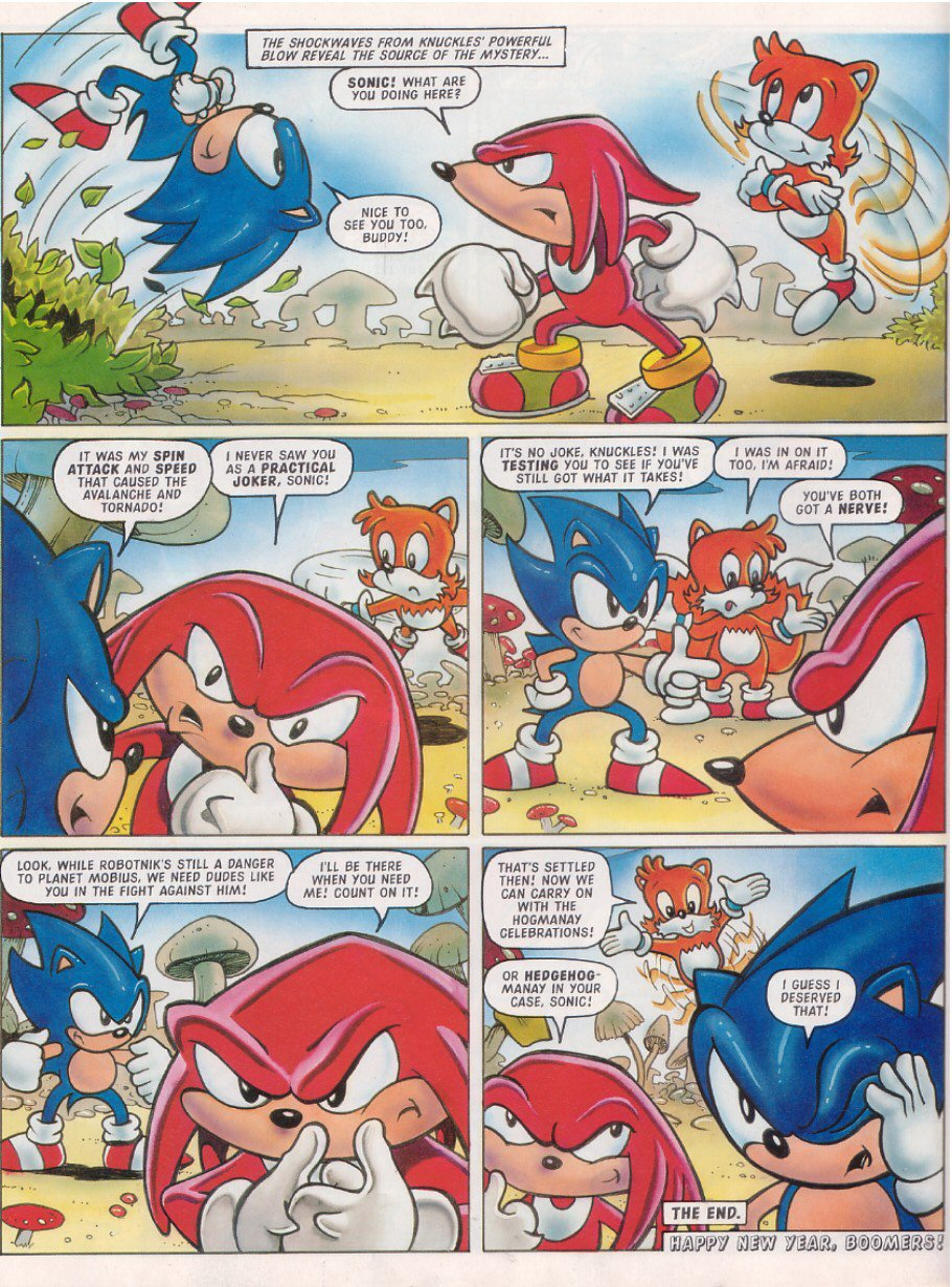 Read online Sonic the Comic comic -  Issue #120 - 14