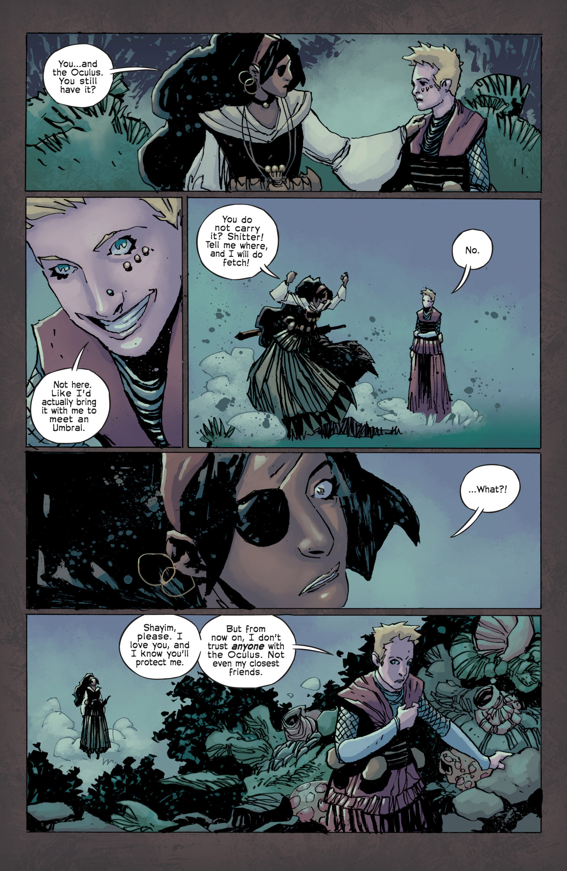 Read online Umbral comic -  Issue #12 - 7