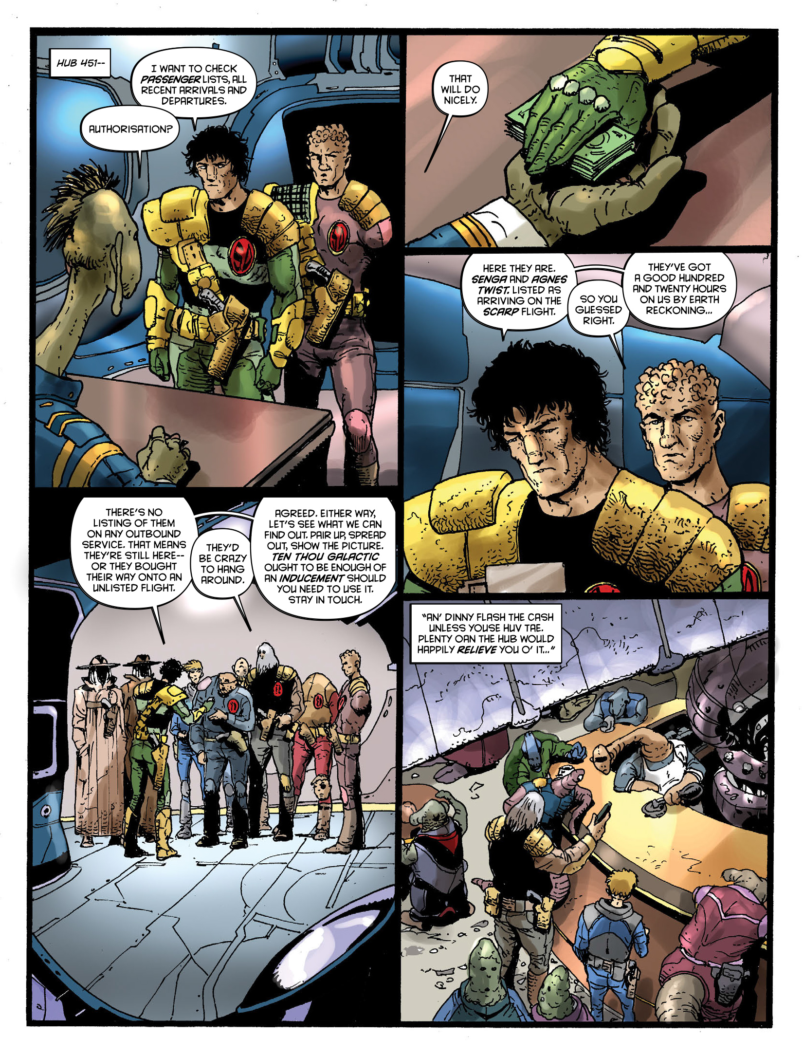 Read online 2000 AD comic -  Issue #1968 - 26