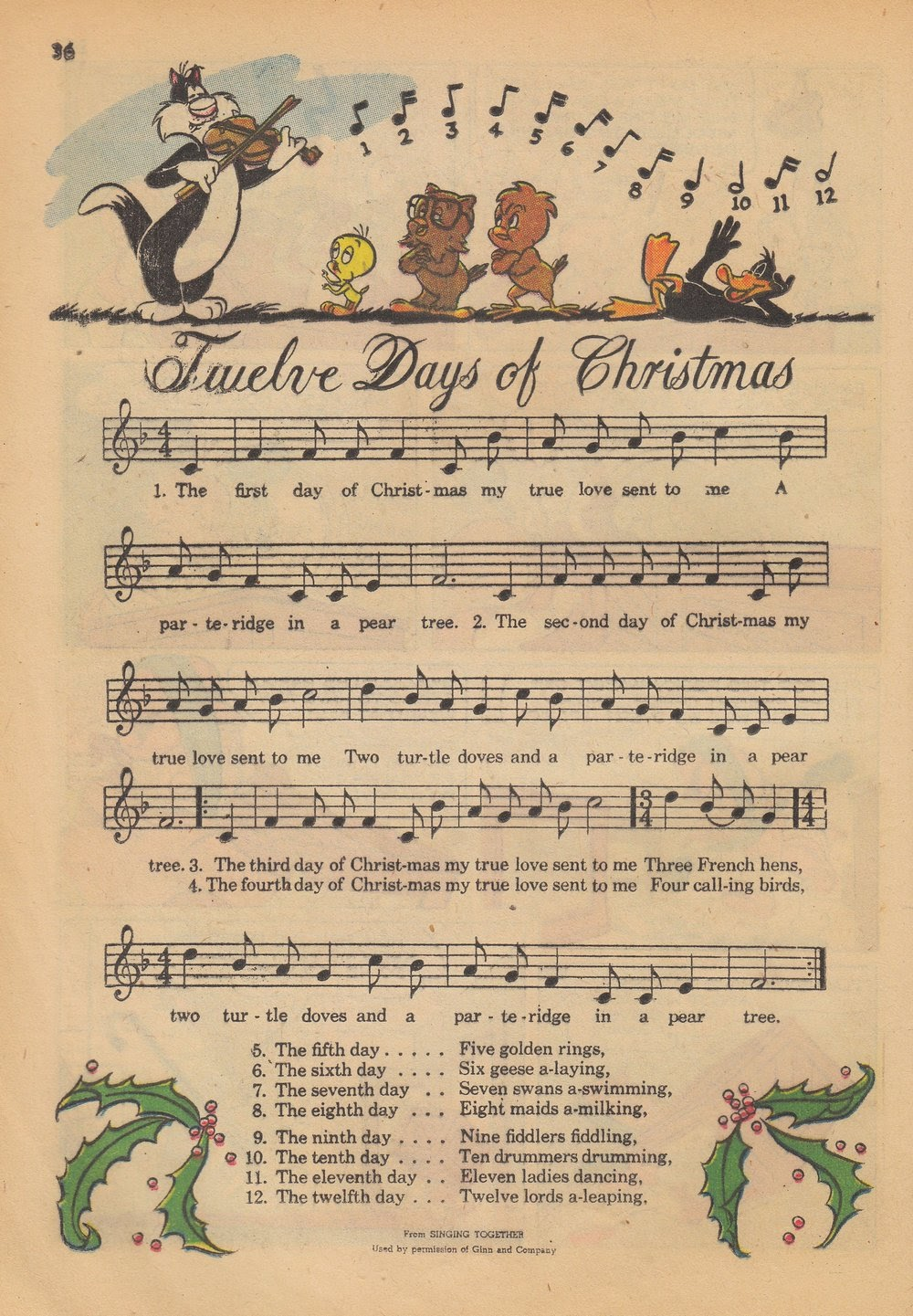 Bugs Bunny's Christmas Funnies issue TPB 4 - Page 38