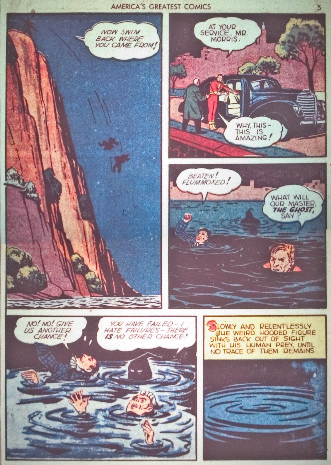 Read online America's Greatest Comics comic -  Issue #1 - 8